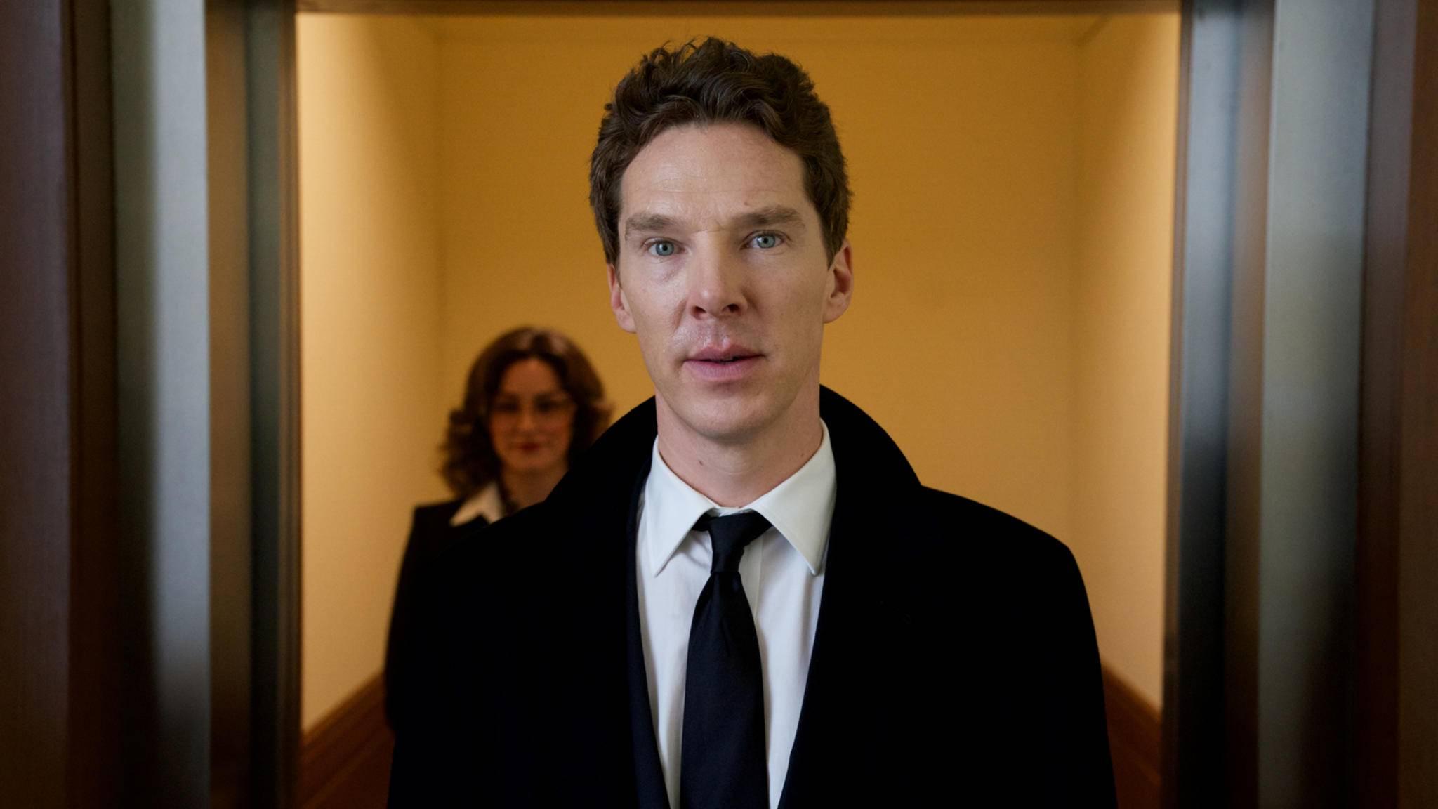 "So sah Benedict Cumberbatch noch in ""Patrick Melrose"" aus ..."