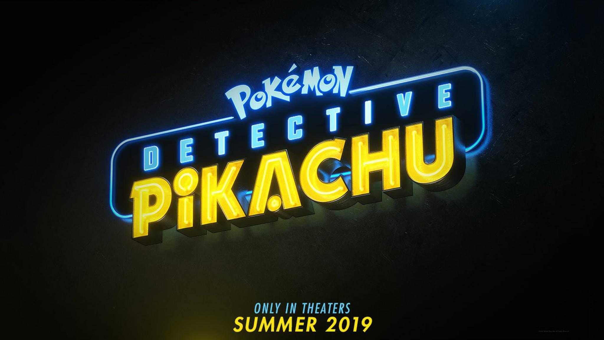 Pikachu geht bald auf Verbrecherjagd.