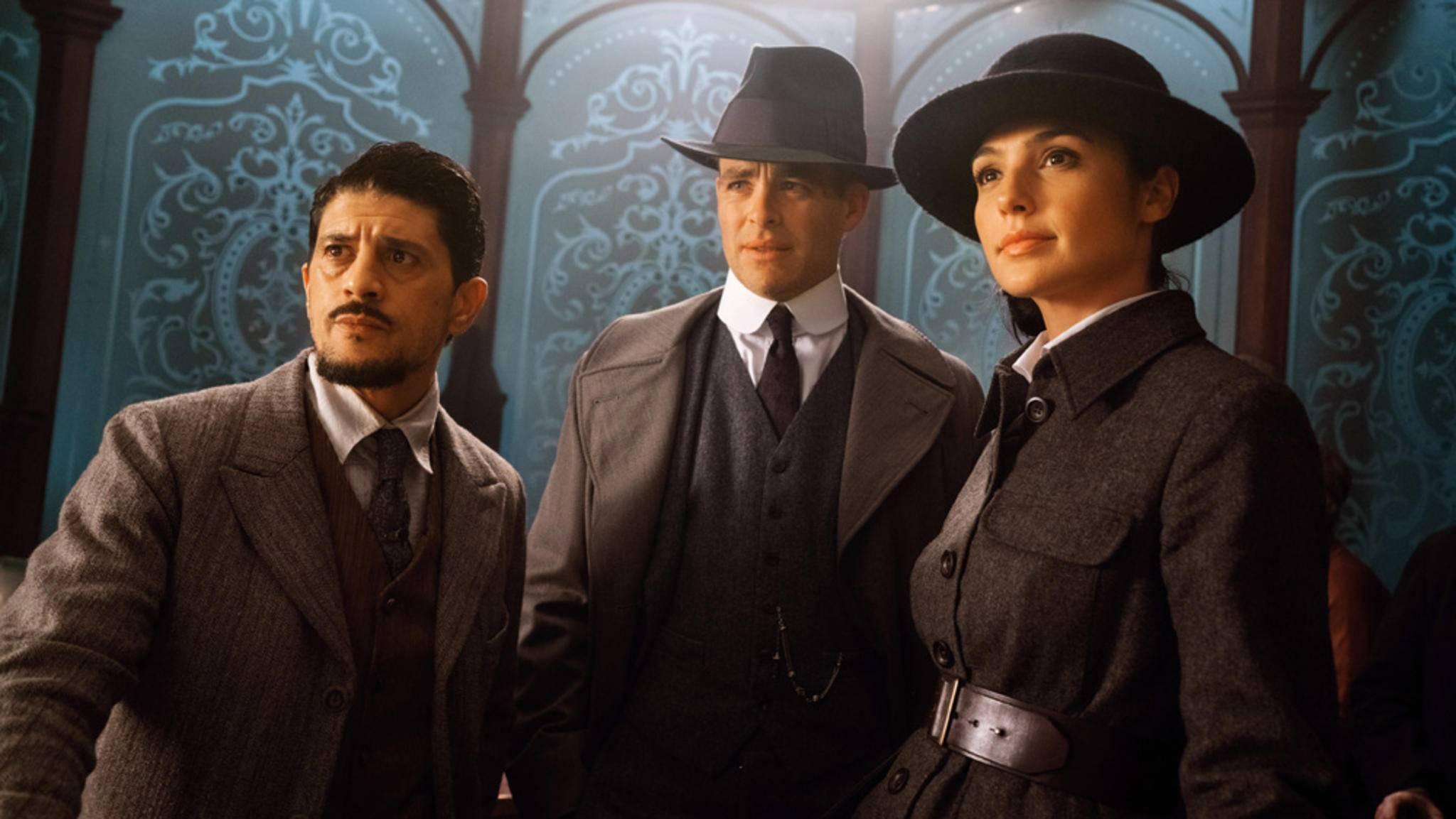 Saïd Taghmaoui (links im Bild) wurde als Sammy zum Verbündeten von Wonder Woman – jetzt trifft er auf John Wick.