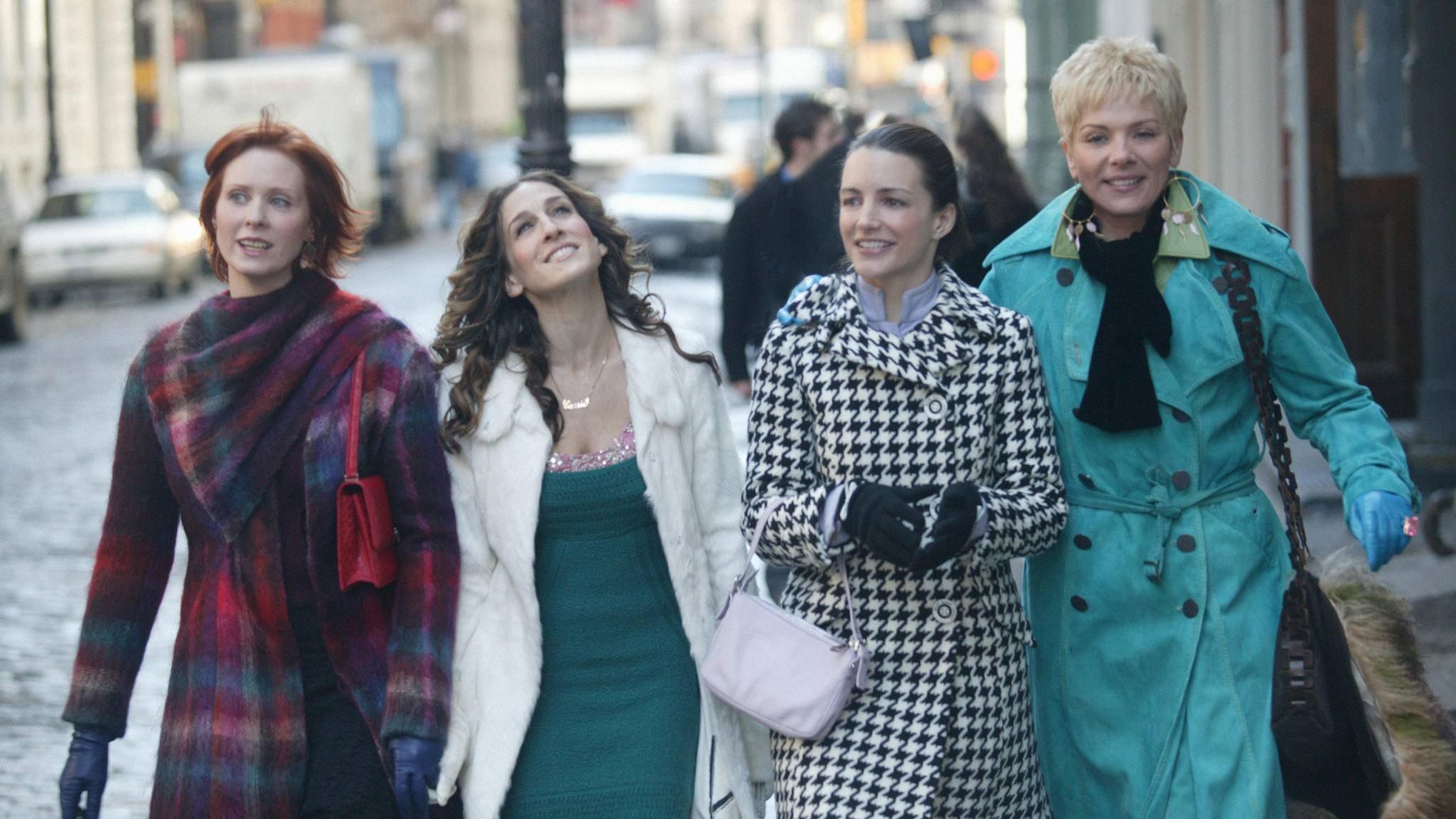 Mit Miranda, Carrie und Charlotte (von links) könnte es ein Wiedersehen geben – Samantha wäre im Reboot wohl nicht dabei.