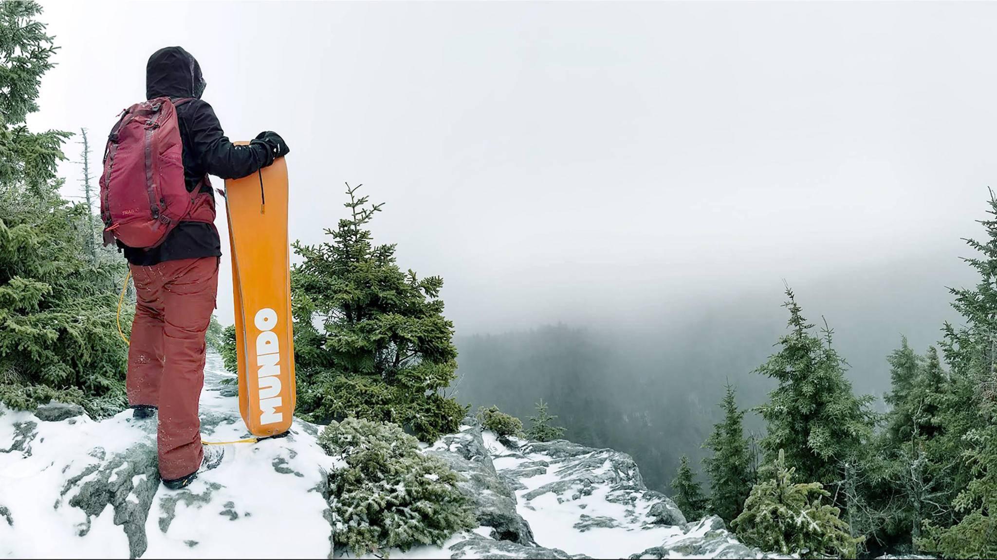 Das Mundo Trailboard kann Wanderungen im Schnee aufpeppen.