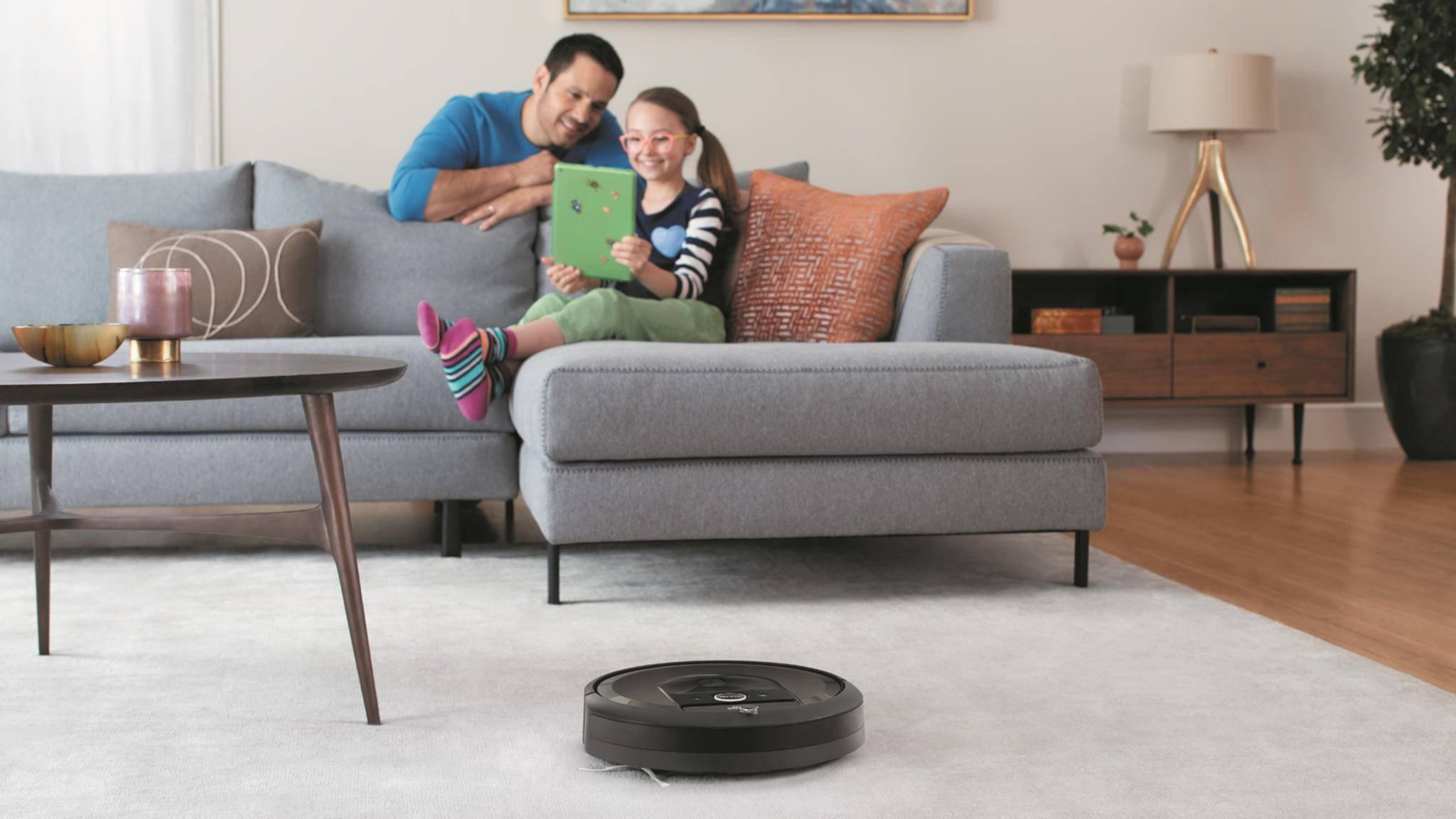 Die Daten von Staubsaugerroboter Roomba sollen künftig nicht mehr nur beim Putzen helfen ...
