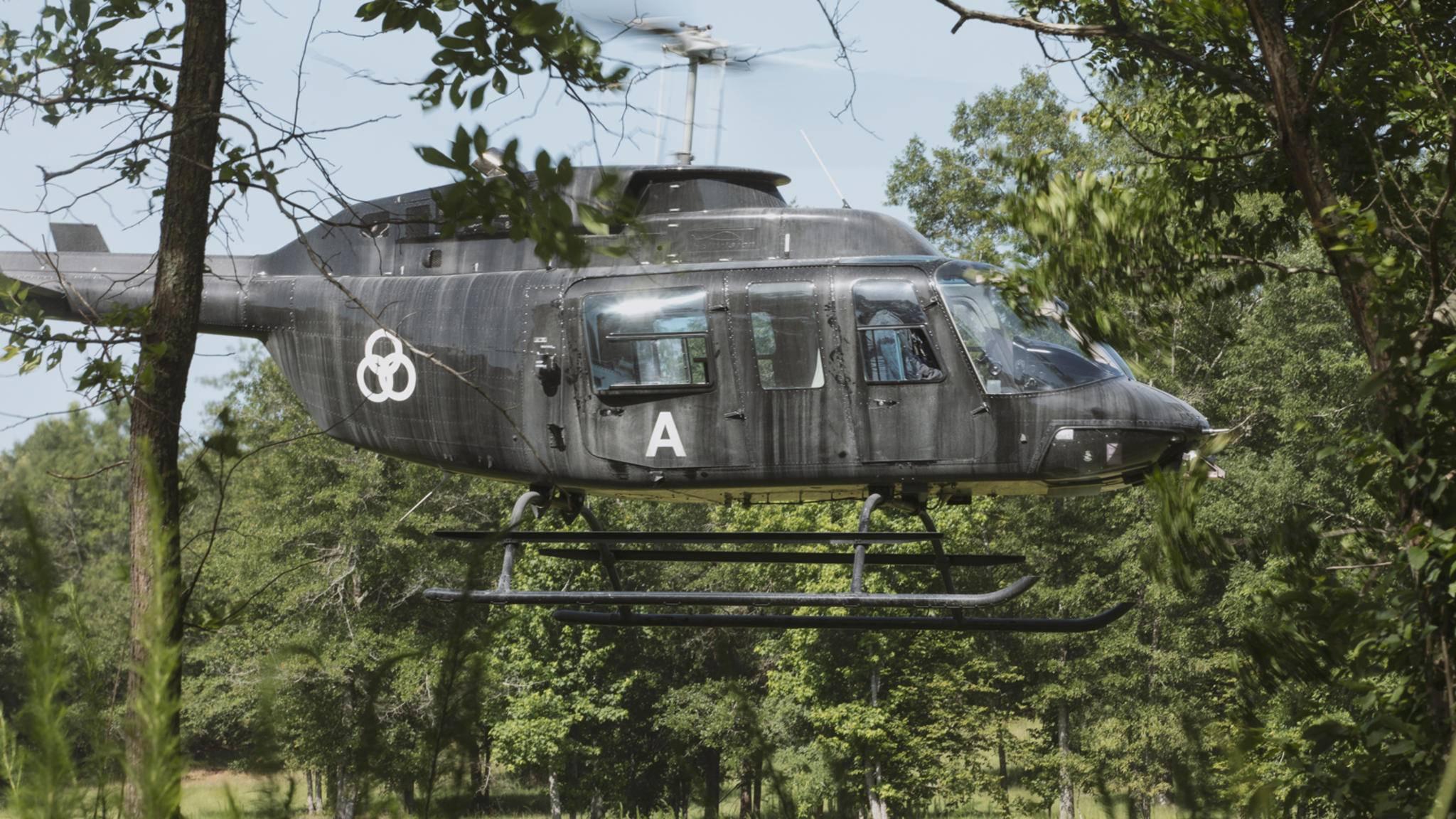 The Walking Dead Hubschrauber