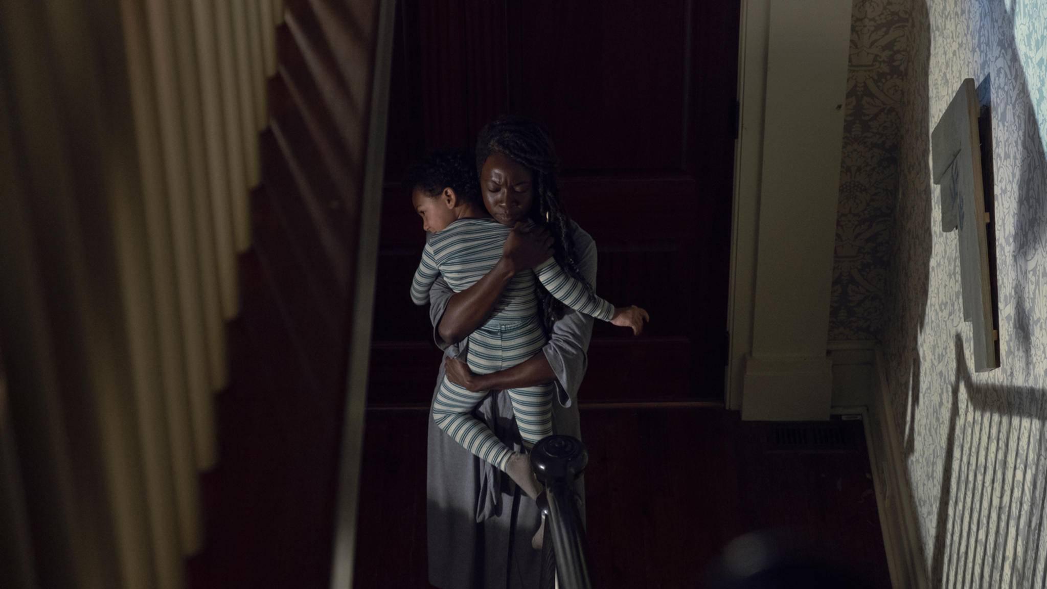 Michonne muss künftig nicht nur auf Judith, sondern auch auf R.J. aufpassen.