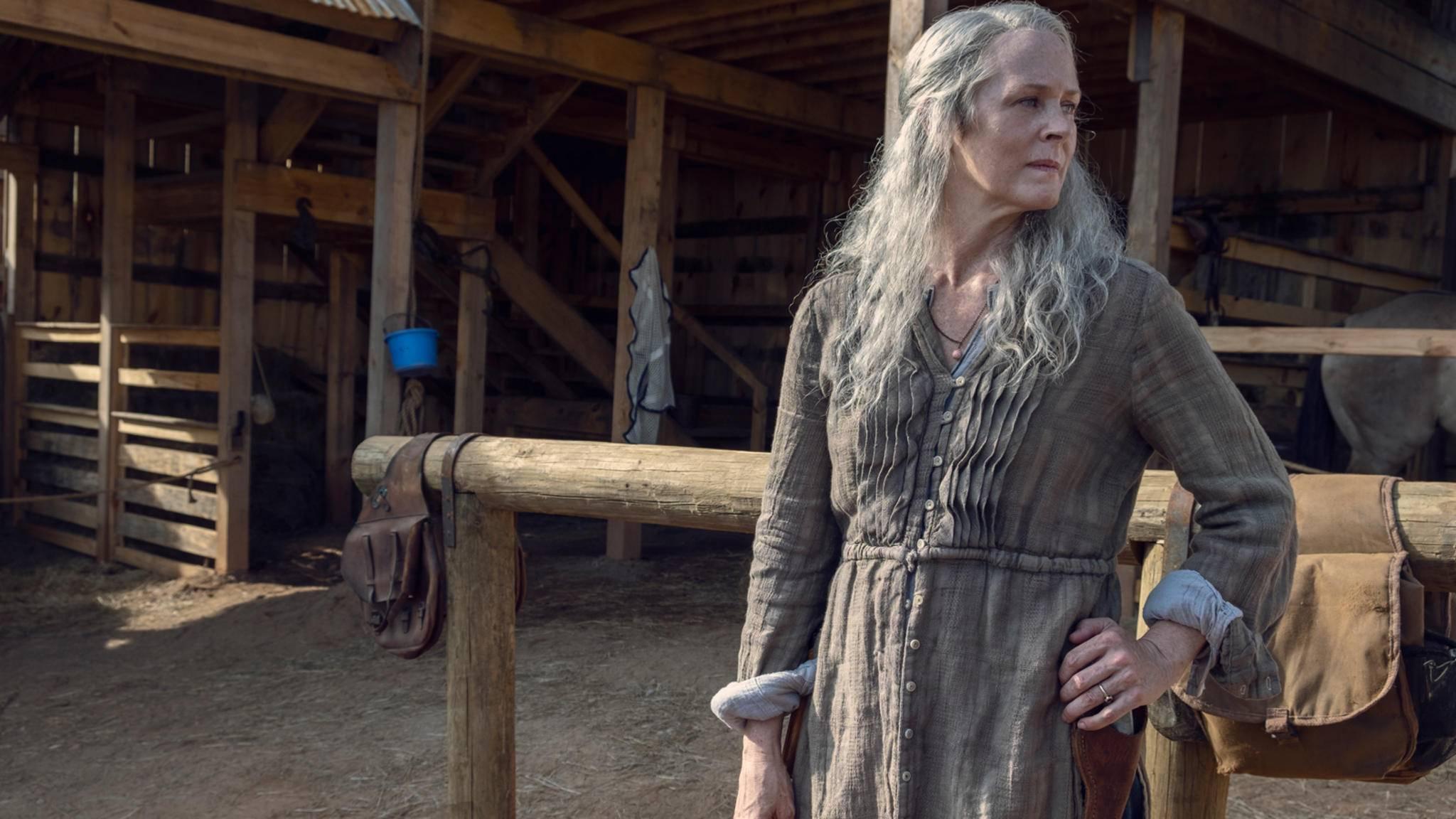 """Beinahe hätte es schon in Staffel 3 """"Bye, bye, Carol"""" geheißen."""