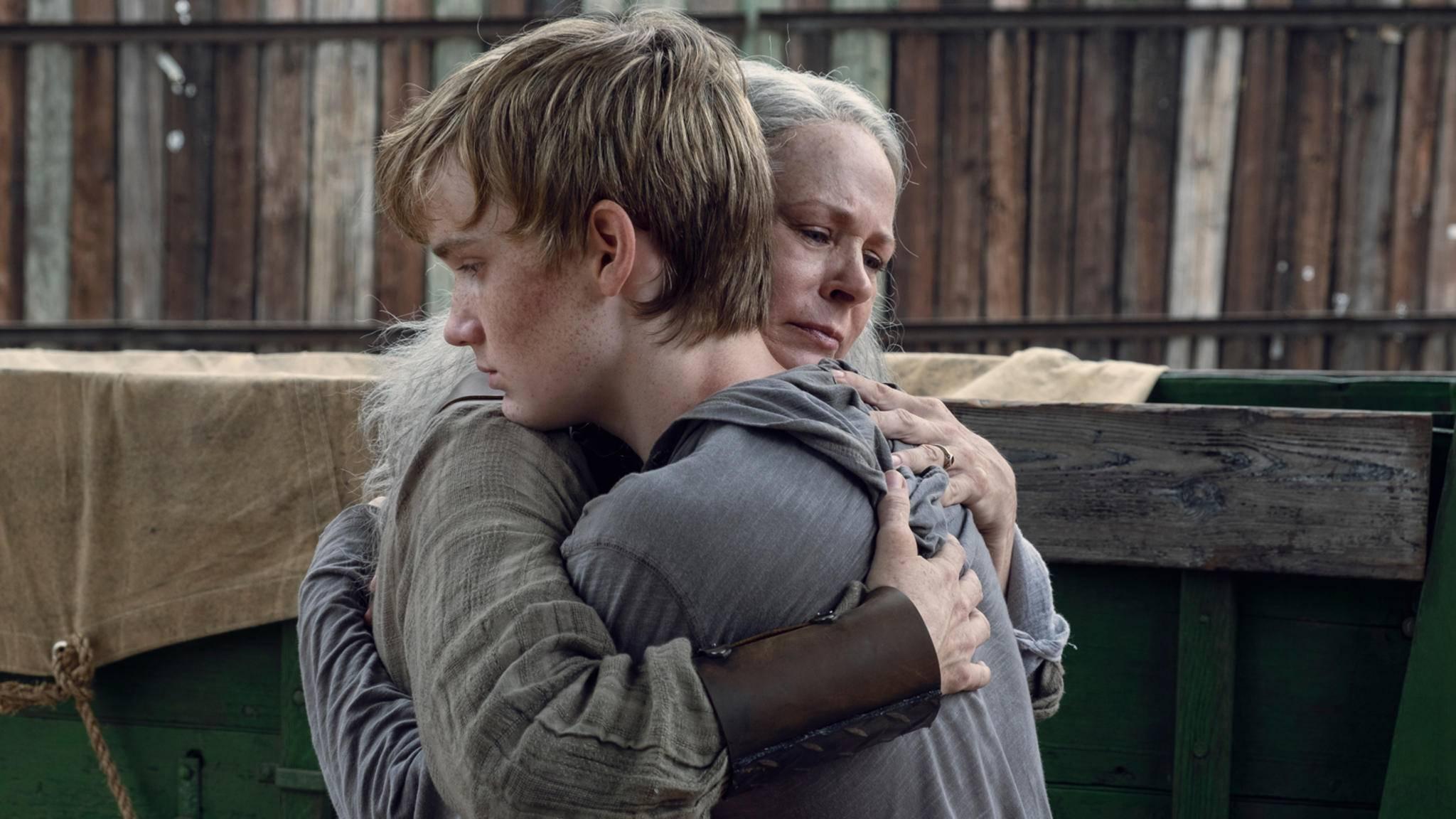 """Nicht traurig sein, """"The Walking Dead"""" kommt ja wieder."""