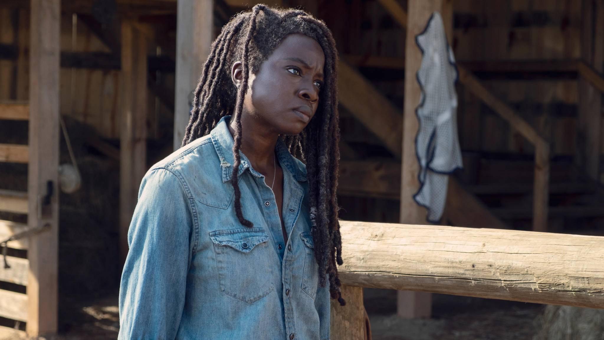 Michonne und Daryl ziert neuerdings eine mysteriöse Narbe.