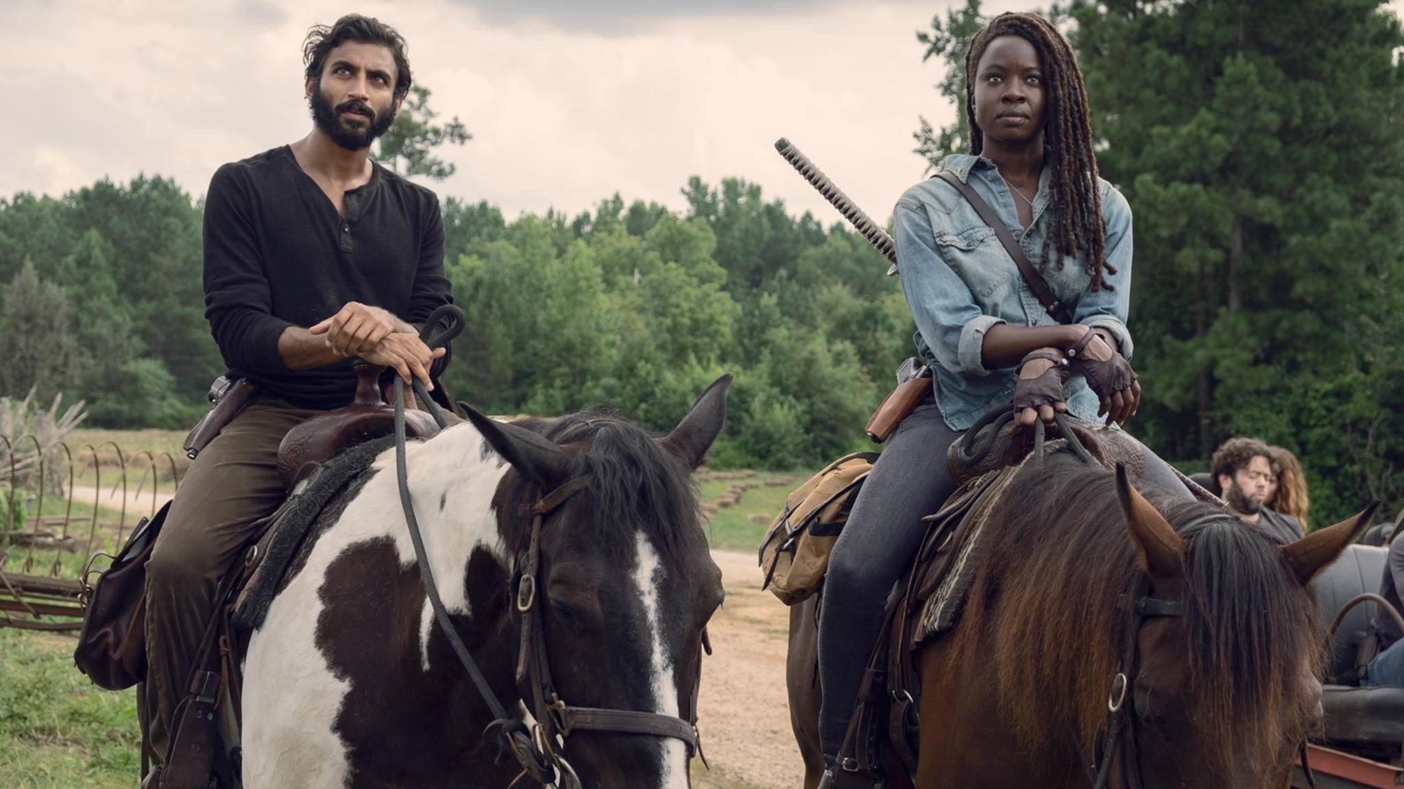 """Der Ritt ist noch nicht zu Ende: """"The Walking Dead"""" geht in seine zehnte Season."""