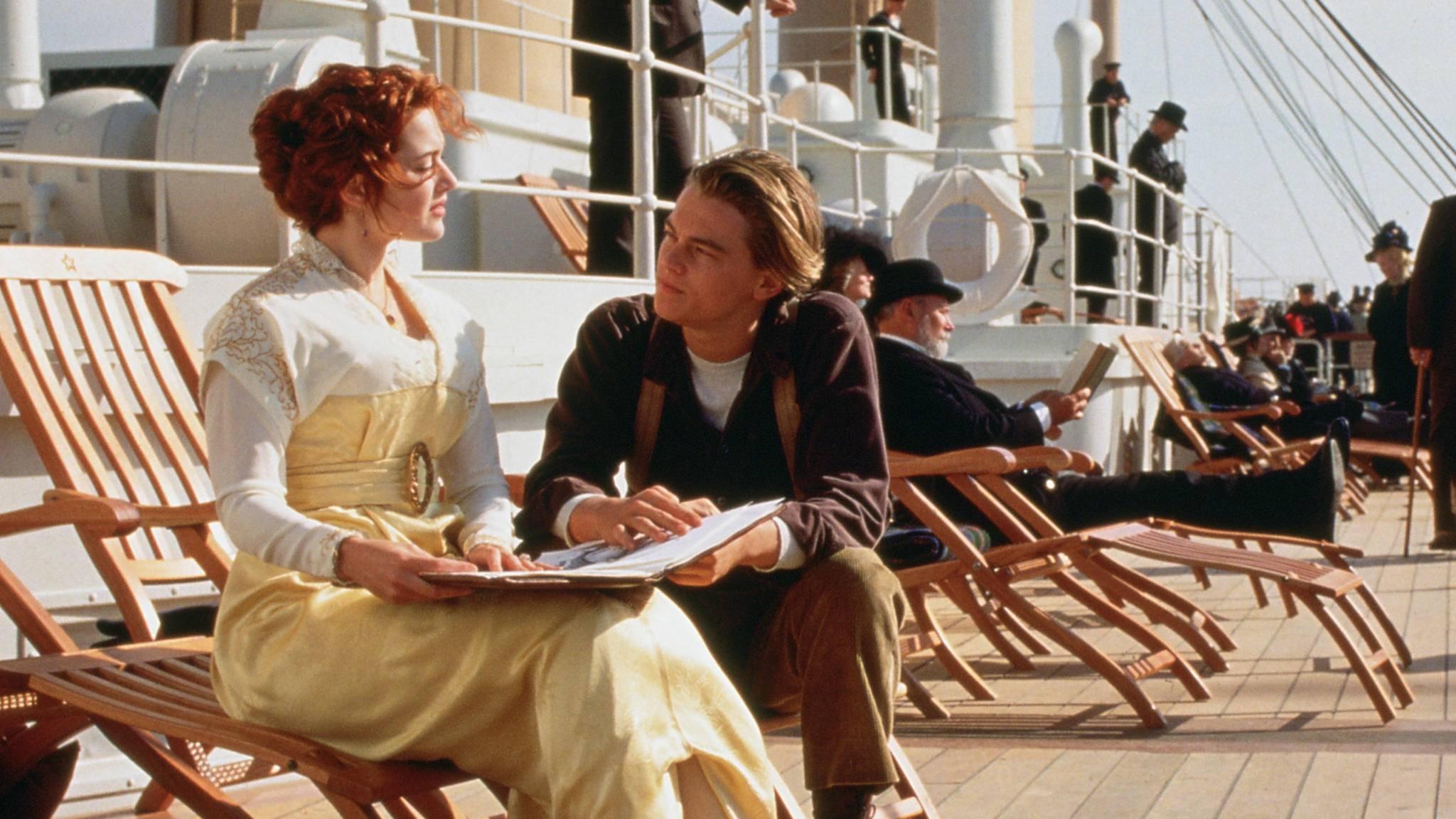 """""""Titanic"""" ohne Leonardo DiCaprio? Das wäre inzwischen unvorstellbar."""