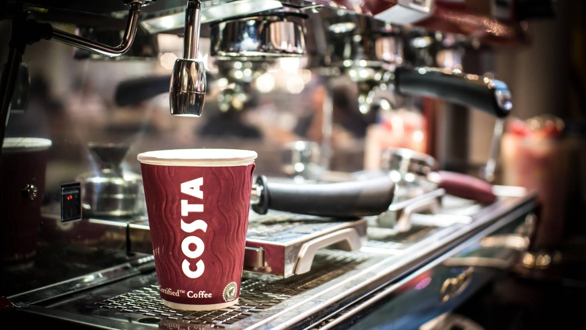 Die britische Kaffeehaus-Kette Costa Coffee bringt einen smarten Thermobecher an den Start.