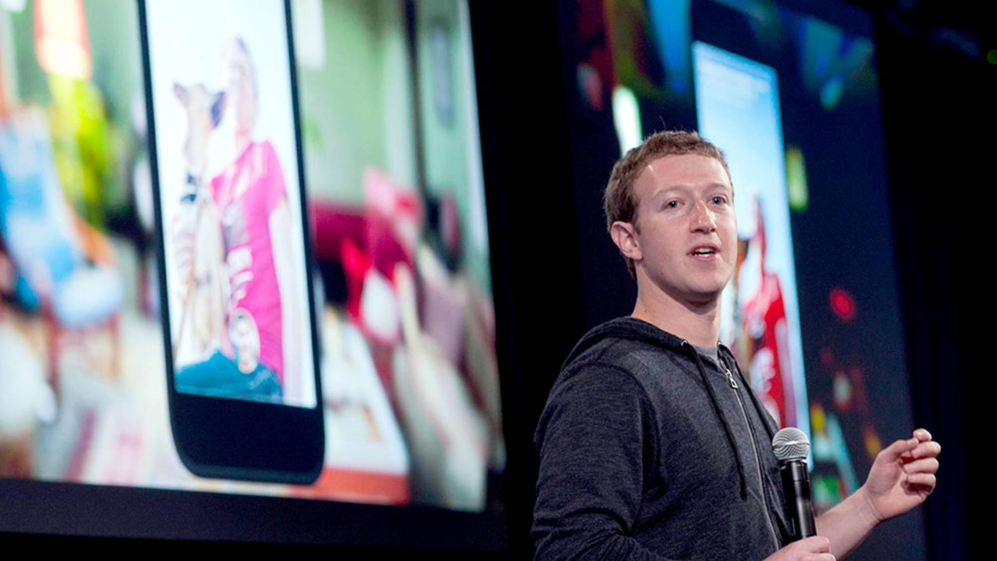 Facebook-Chef Zuckerberg fordert von seinen Führungskräften die Nutzung von Android-Smartphones.