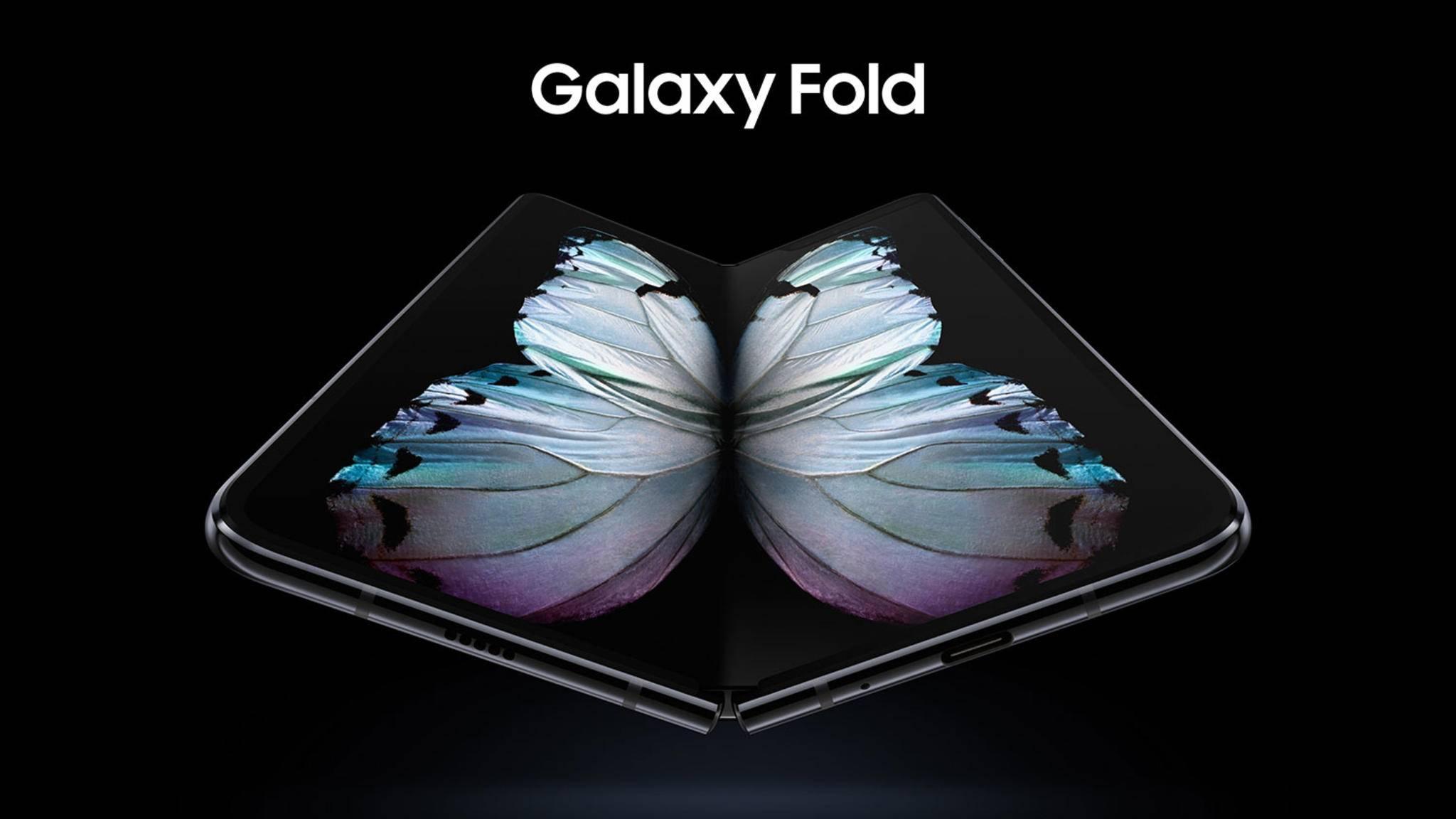 Das Galaxy Fold wird 2.000 Euro kosten.