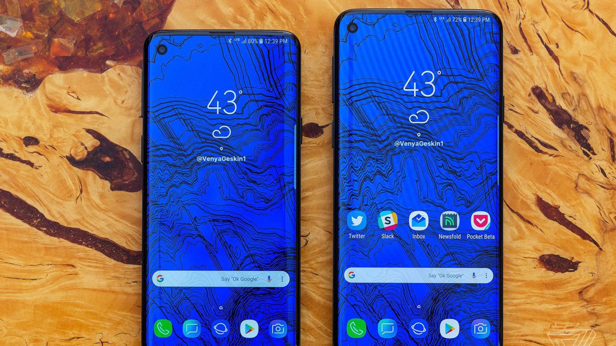 Das Samsung Galaxy S10 wird wohl mindestens in drei Ausführungen kommen.