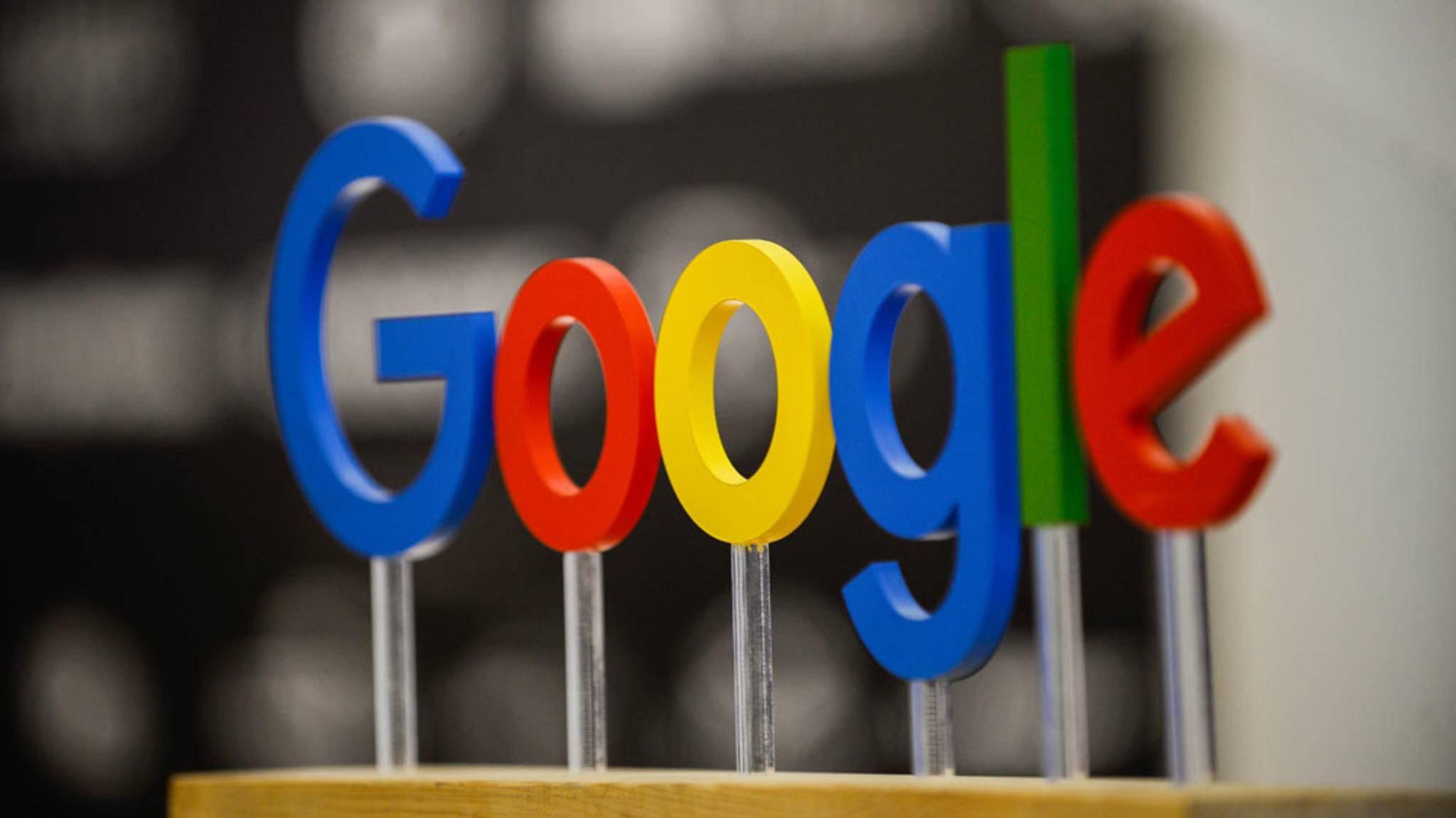 Hinter den Farben des Google-Logos steckt eine bestimmte Botschaft.