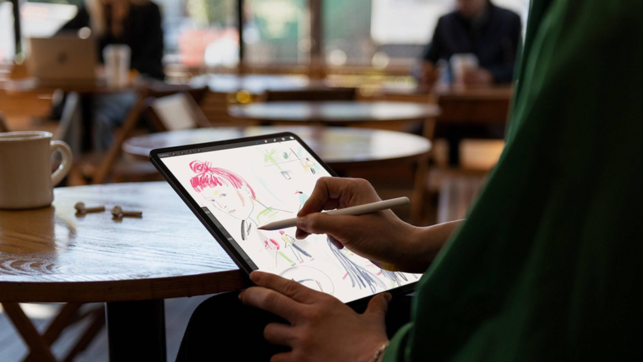 Das neue iPad Pro mit Face ID wurde in der vergangenen Woche vorgestellt.