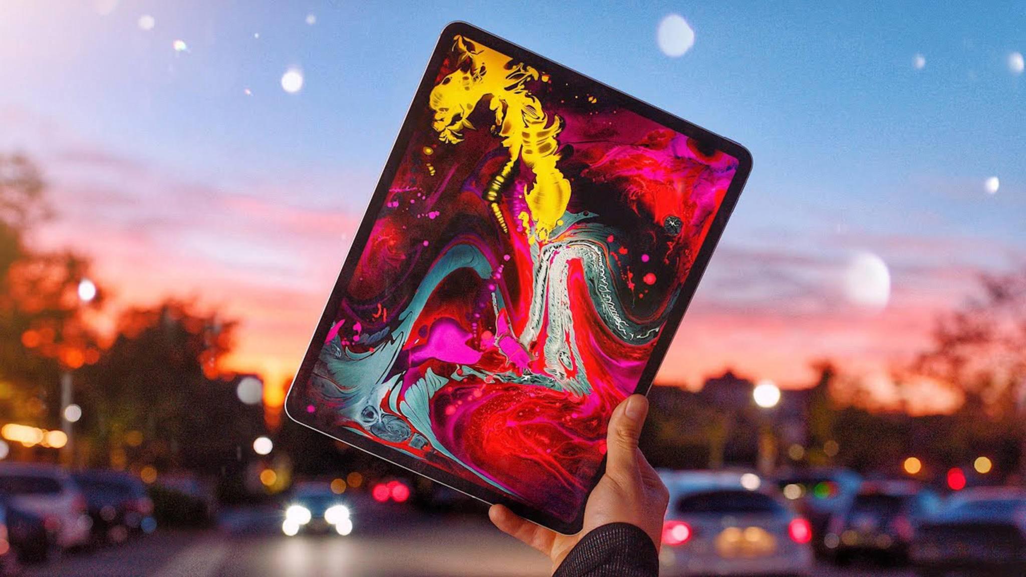 Vor allem der brillante LCD-Bildschirm des iPad Pro wird gelobt.
