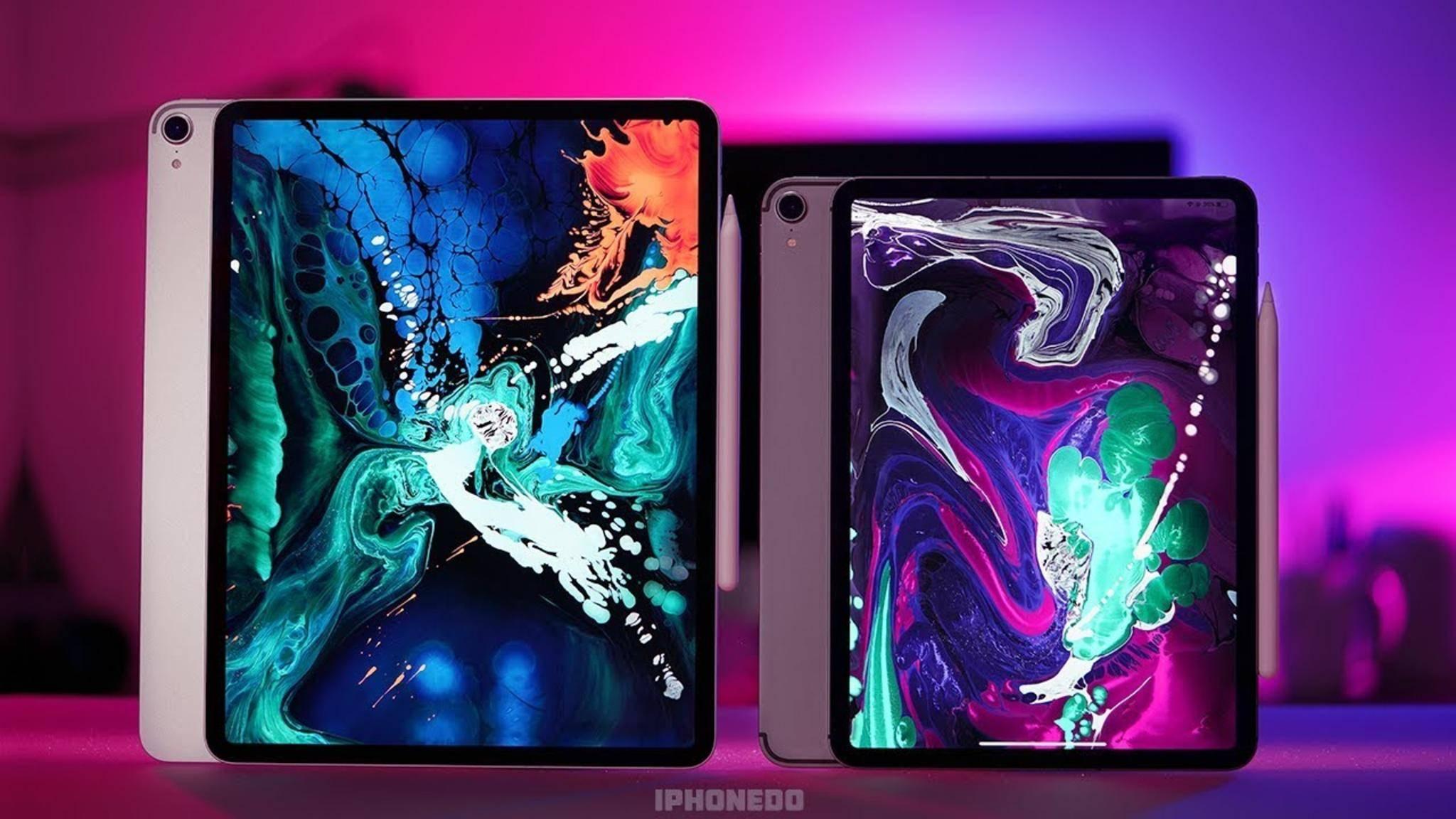 Wird sich schon bald eine herkömmliche USB-Maus an das iPad Pro anschließen lassen?