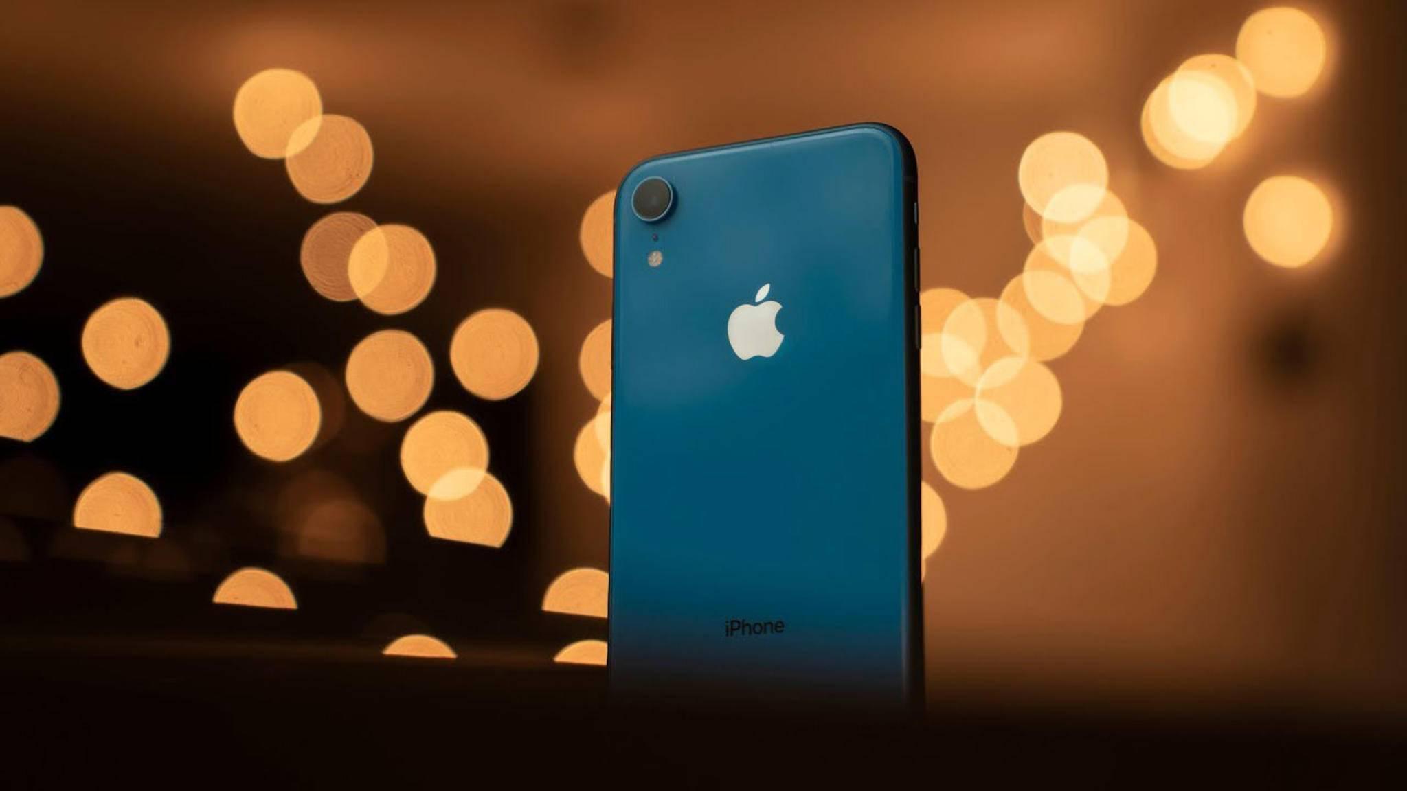 Das iPhone XR bietet laut DxOMark die beste Single-Lens-Kamera.