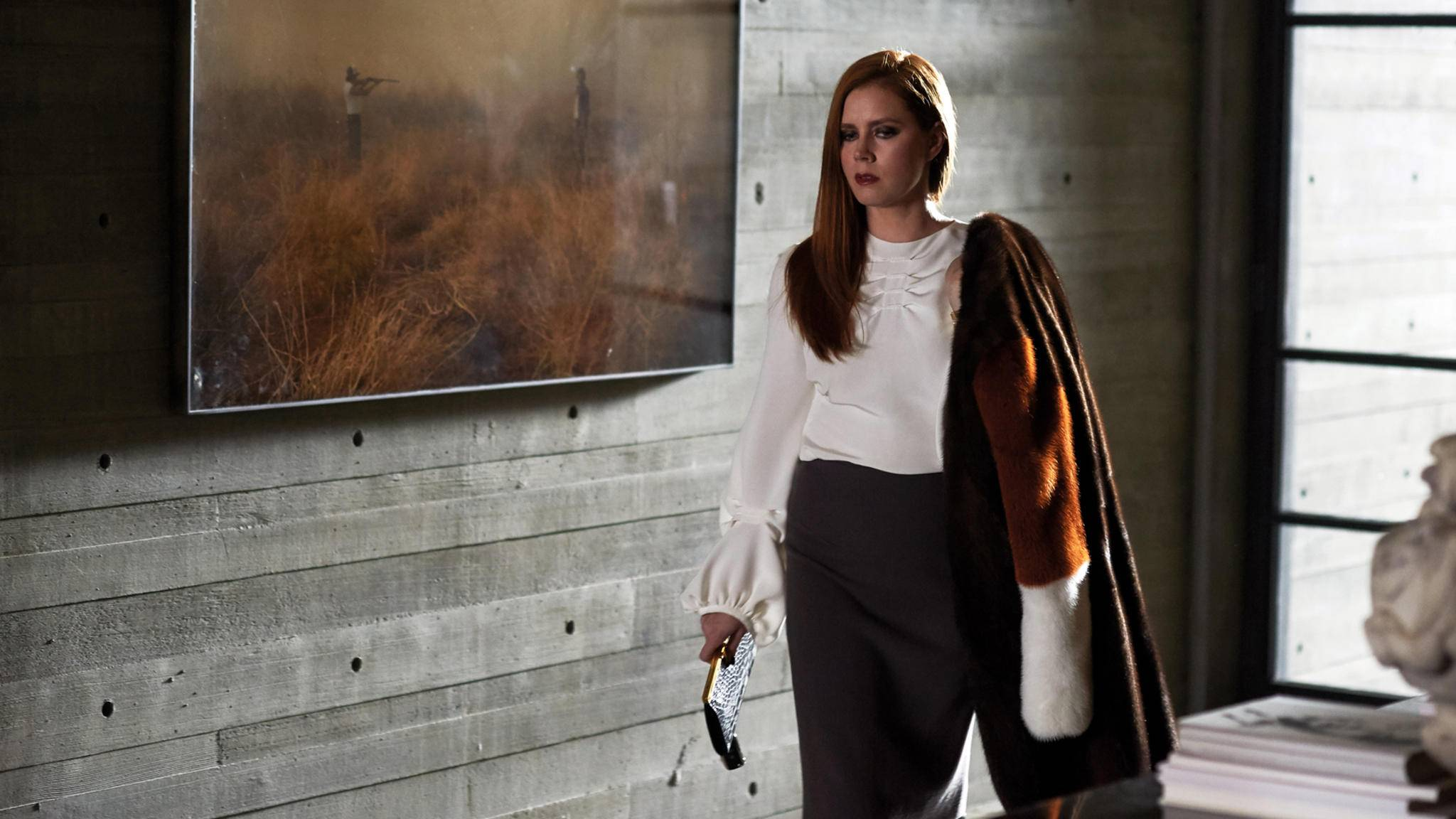 "Top gestylt von Kopf bis Fuß: Amy Adams in ""Nocturnal Animals""."