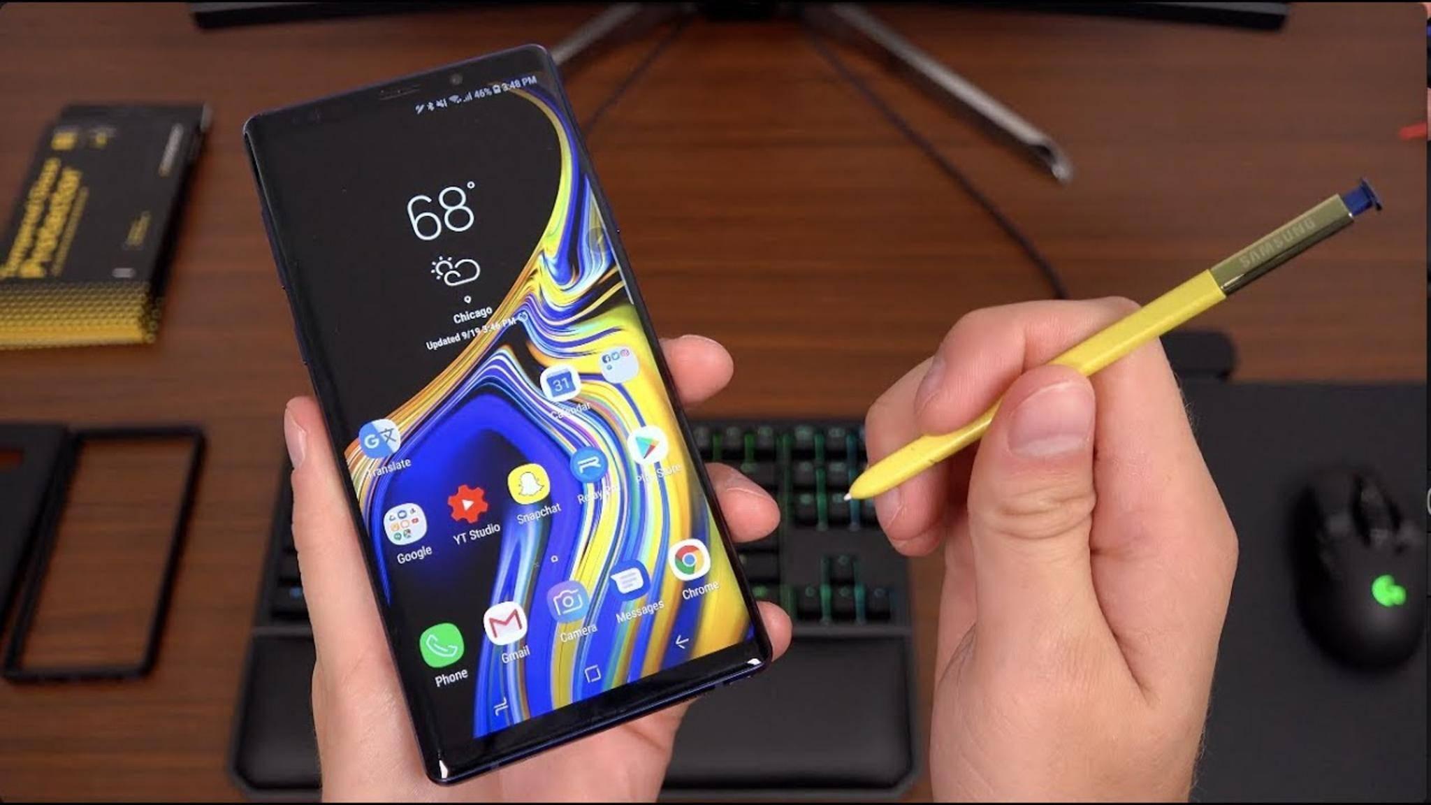 Wird Samsung doch noch ein Beta-Programm für Android Pie auf dem Galaxy Note 9 starten?