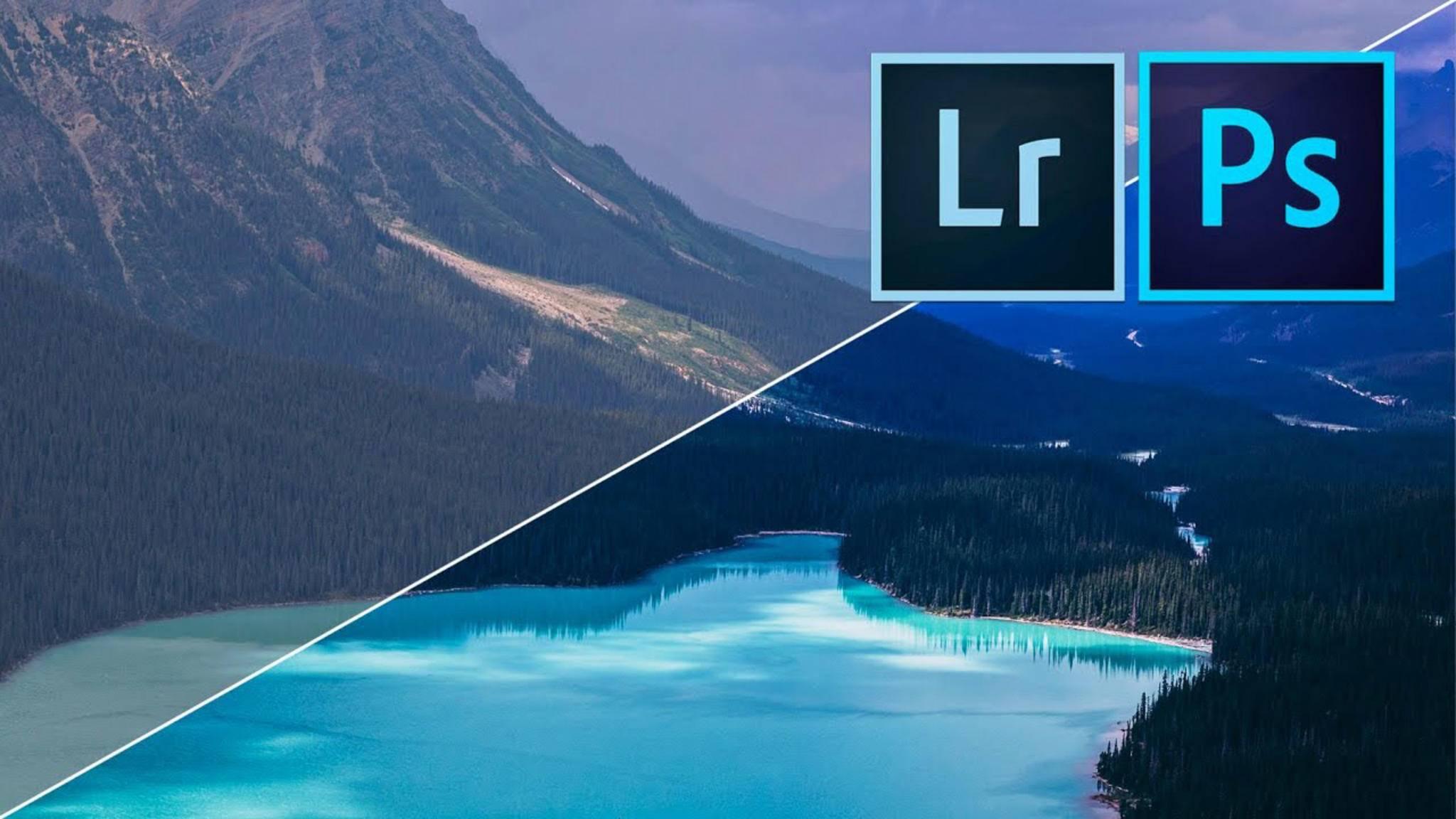 Lightroom vs. Photoshop: Wir klären, welches Programm welchen Zweck erfüllt.