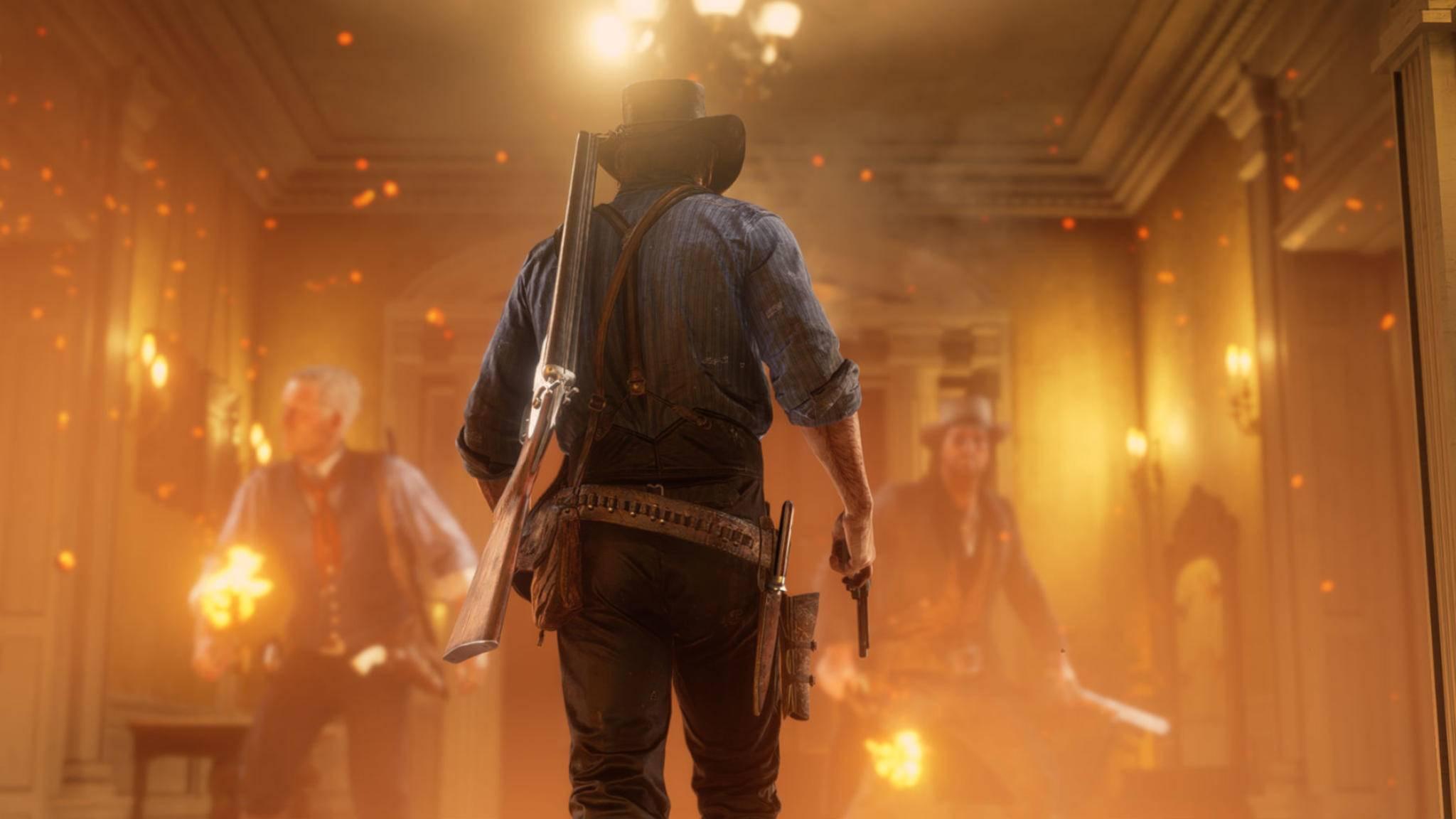 """Unter Feuer: Einigen Spielern ist """"Red Dead Redemption 2"""" zu langweilig."""