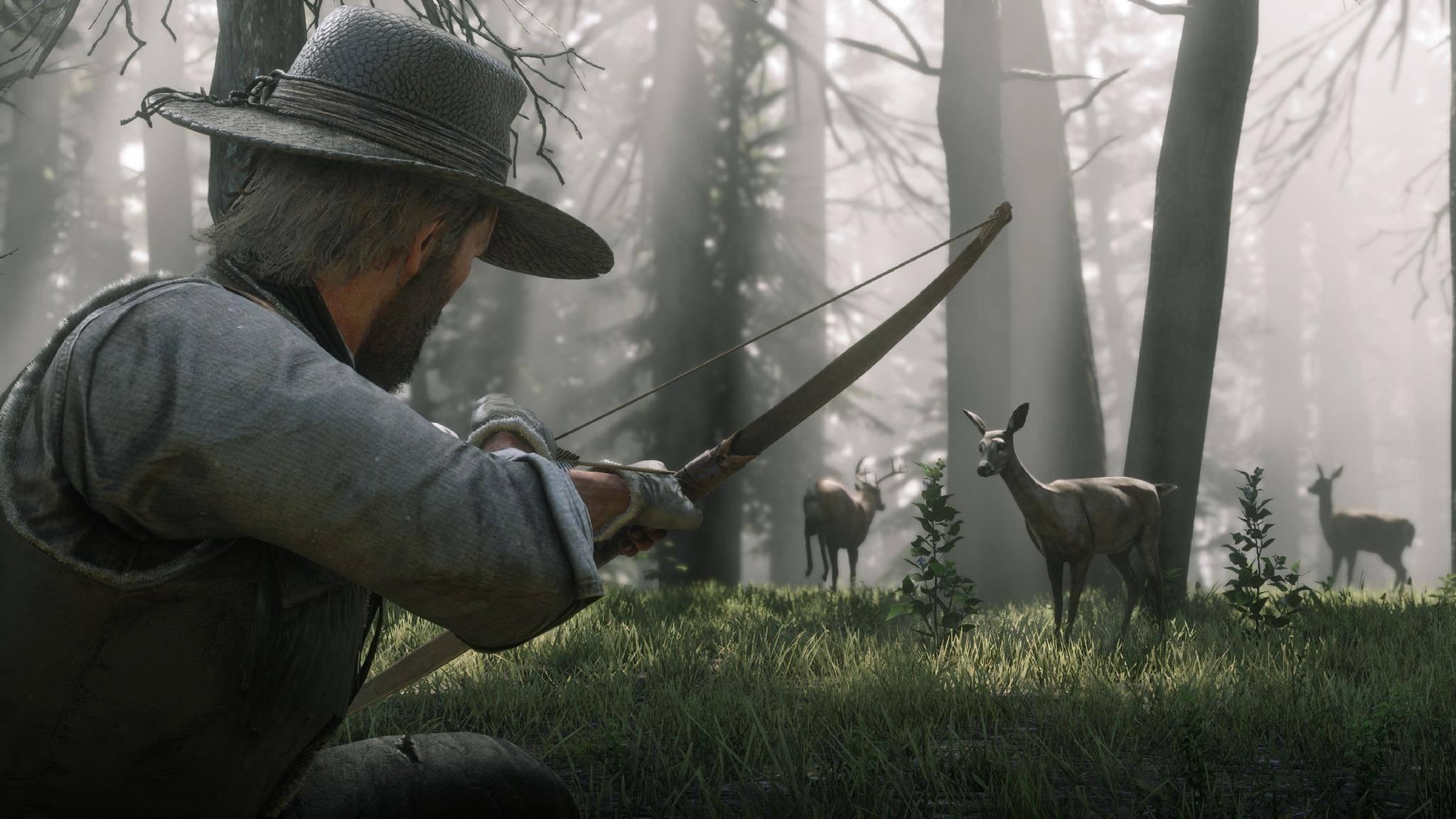"""Das Verhalten der Tiere in """"Red Dead Redemption 2"""" ist naturgetreu dargestellt."""