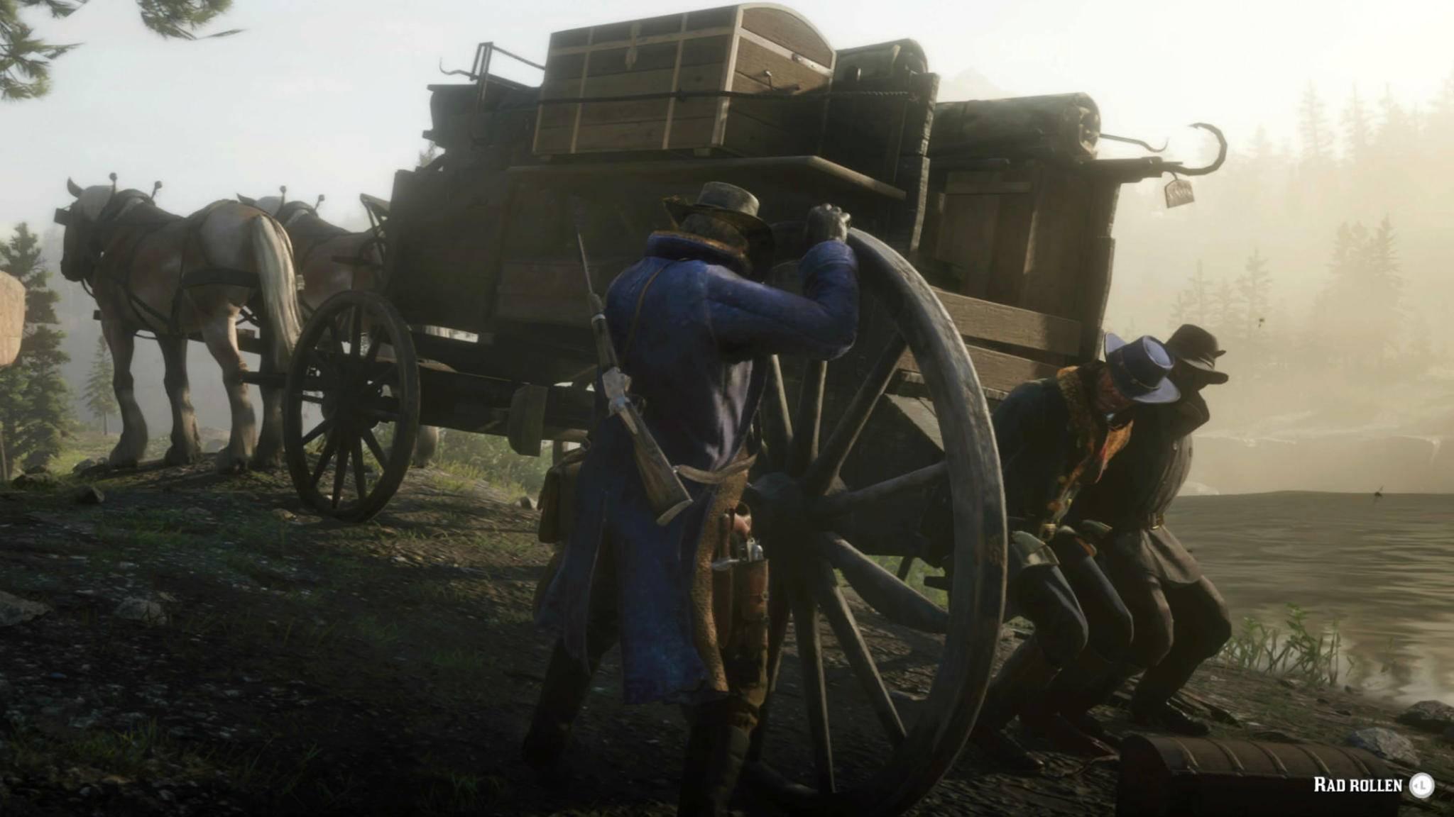 """Der Start von """"Red Dead Redemption 2"""" verlief nicht reibungslos."""
