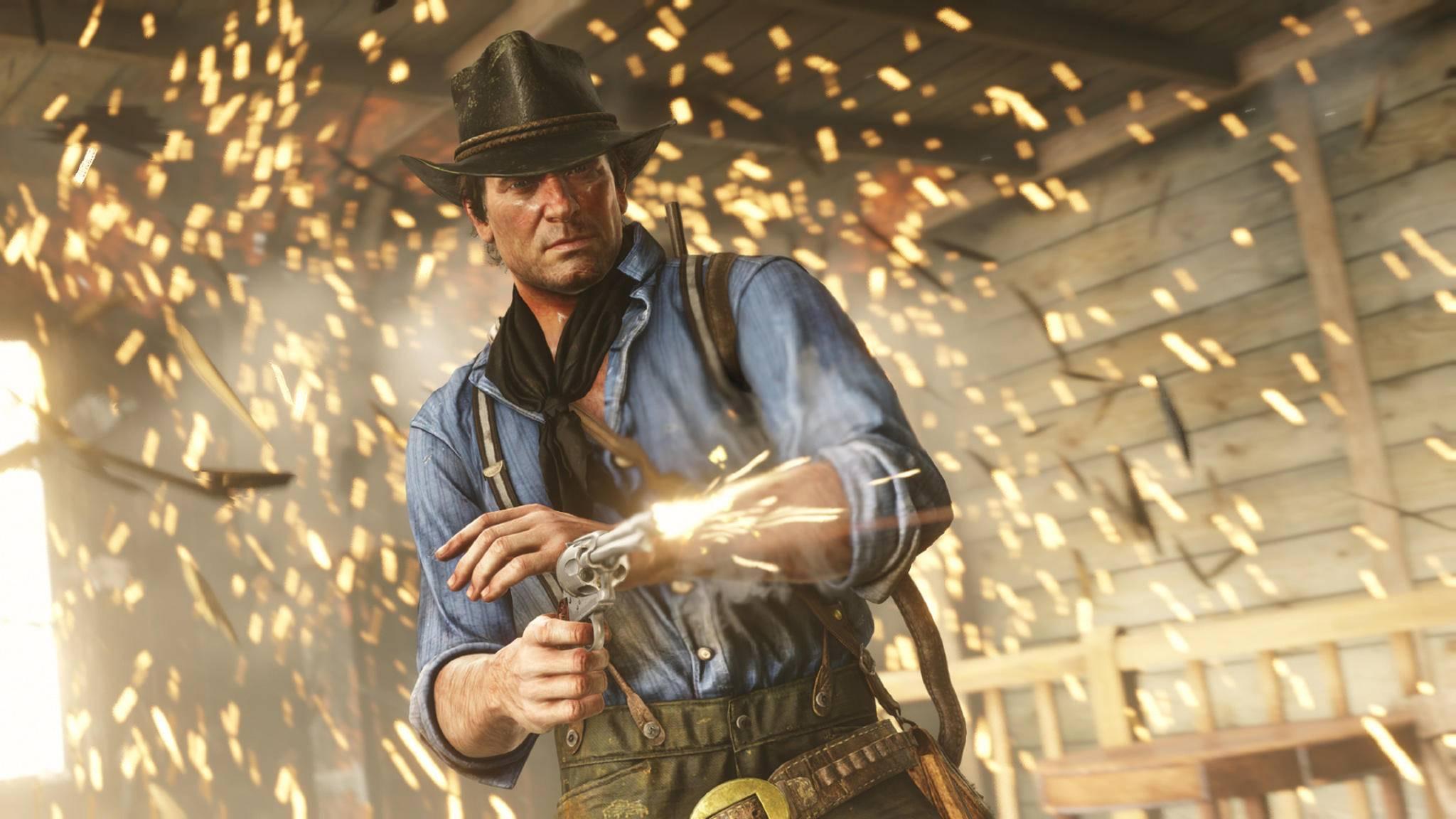 Arthur Morgan schießt scharf – auch, aber nicht nur mit dem Revolver.