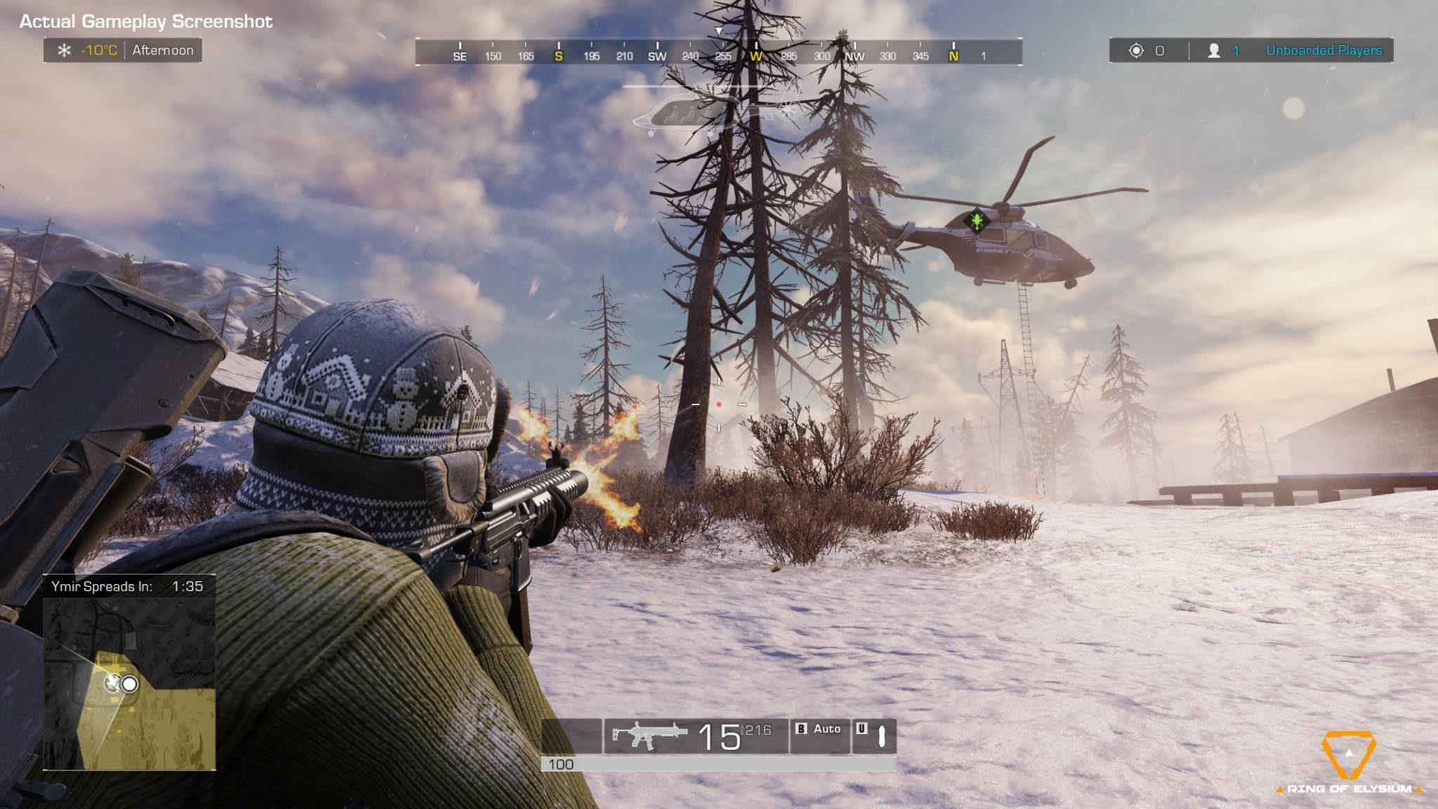 "In ""Ring of Elysium"" gibt's Battle-Royale und Wintersport."
