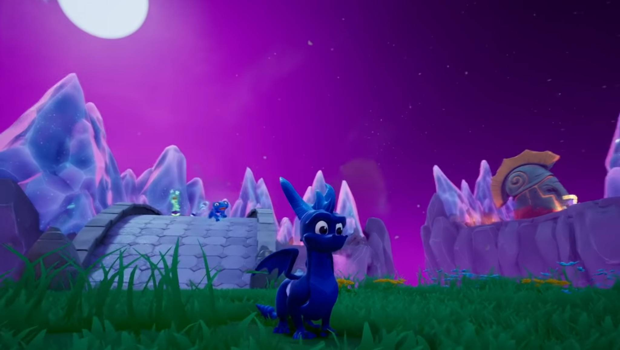 Ein blauer Spyro? Cheats machen es möglich!