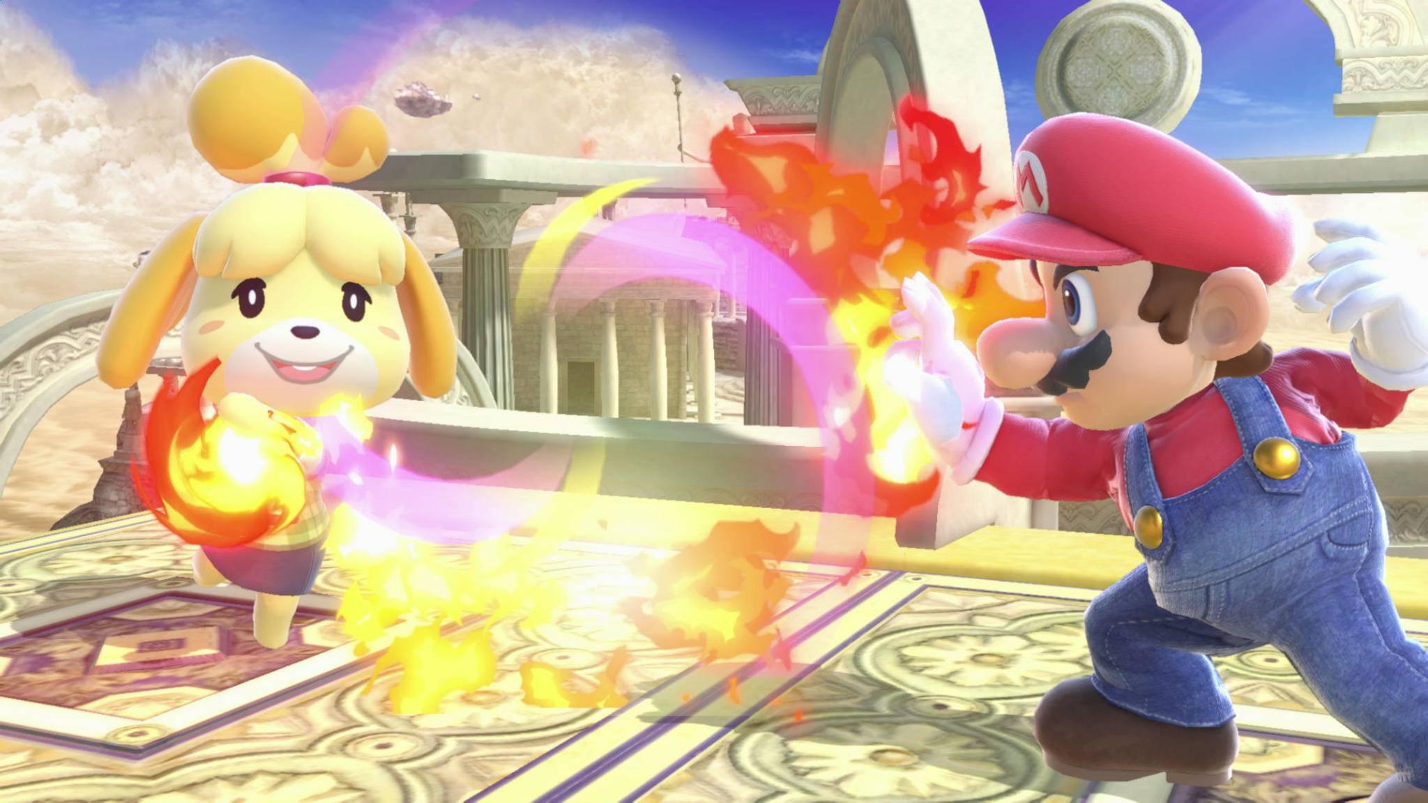 """""""Cooler Move! Wie hab ich den jetzt gemacht...?"""" Das Tutorial zu """"Super Smash Bros. Ultimate"""" ist gut versteckt."""