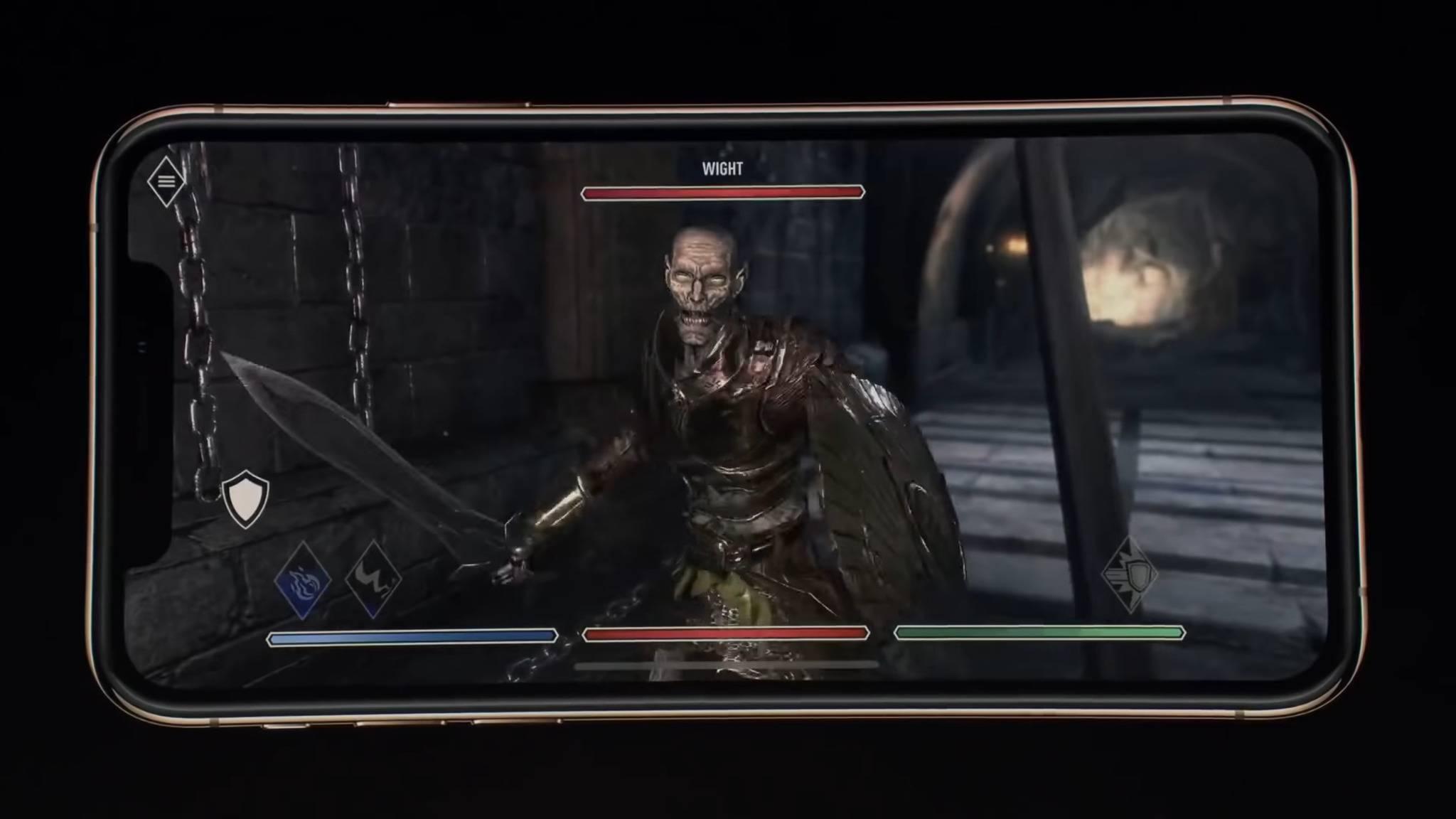 """Bethesda verschiebt den Releasetermin für """"The Elder Scrolls: Blades"""" ins nächste Jahr."""