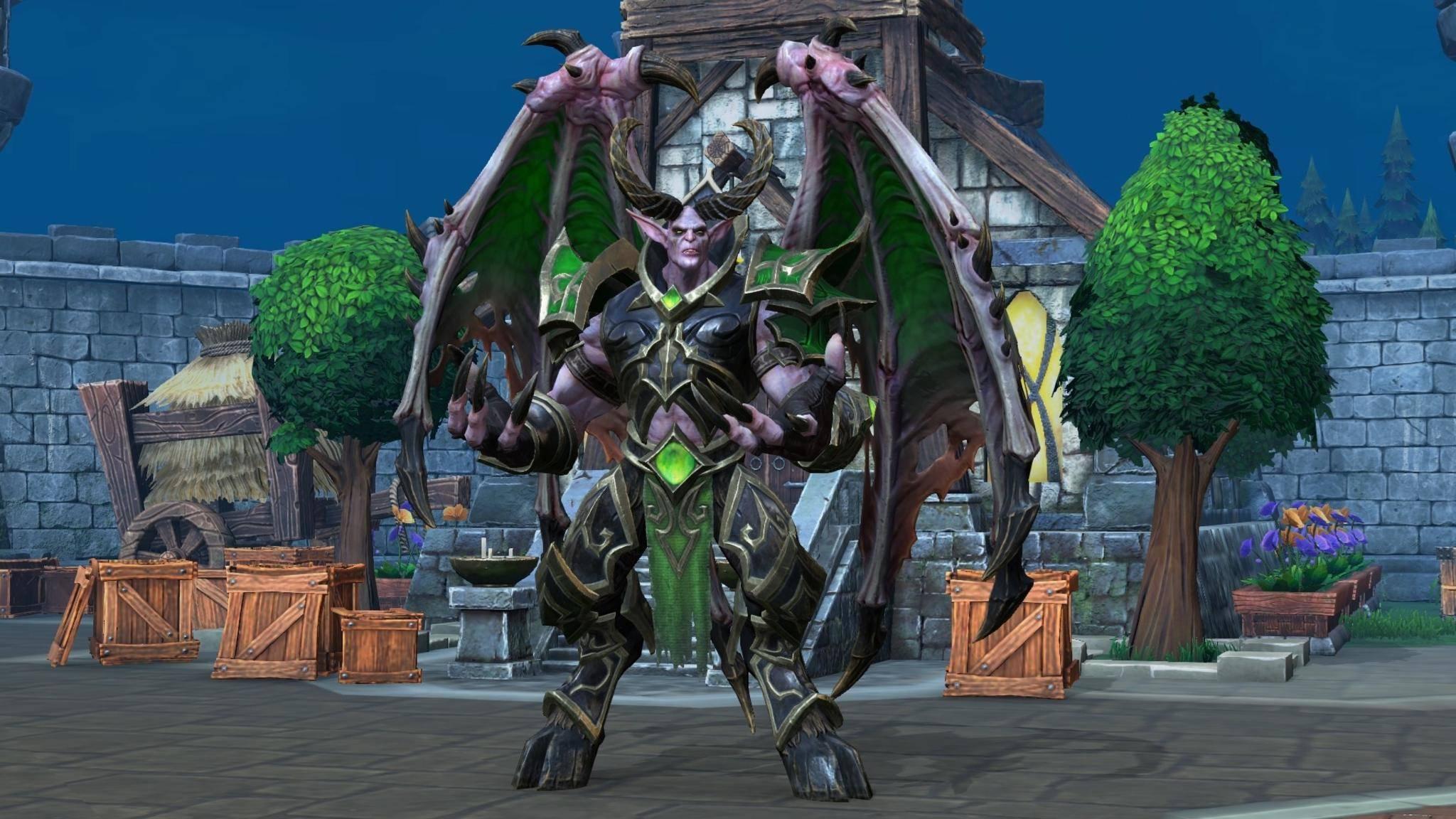 """""""Warcraft 4"""" steht bei Blizzard momentan nicht auf dem Plan, """"Warcraft 3: Reforged"""" hat Vorrang."""