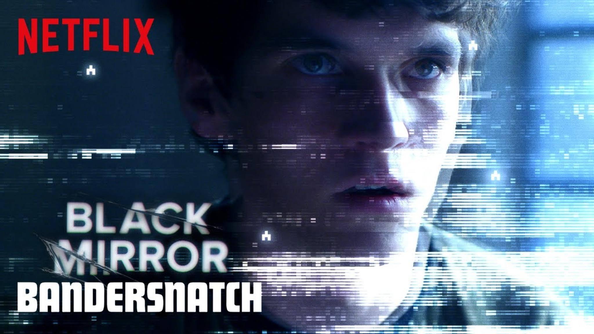 """Die Story der """"Black Mirror""""-Folge """"Bandersnatch"""" kann durch den Zuschauer beeinflusst werden."""