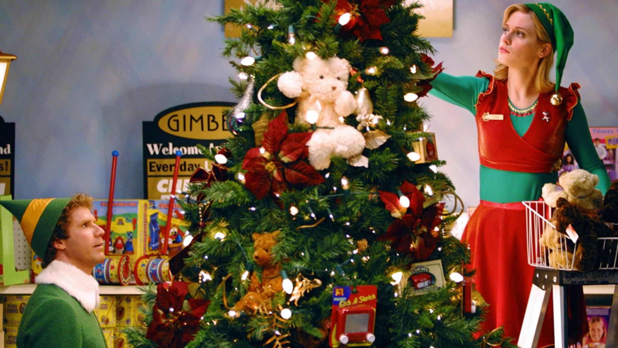 Bei den folgenden Weihnachtsfilmen gibt's nicht nur für Buddy den Weihnachtselfen einiges zu sehen.