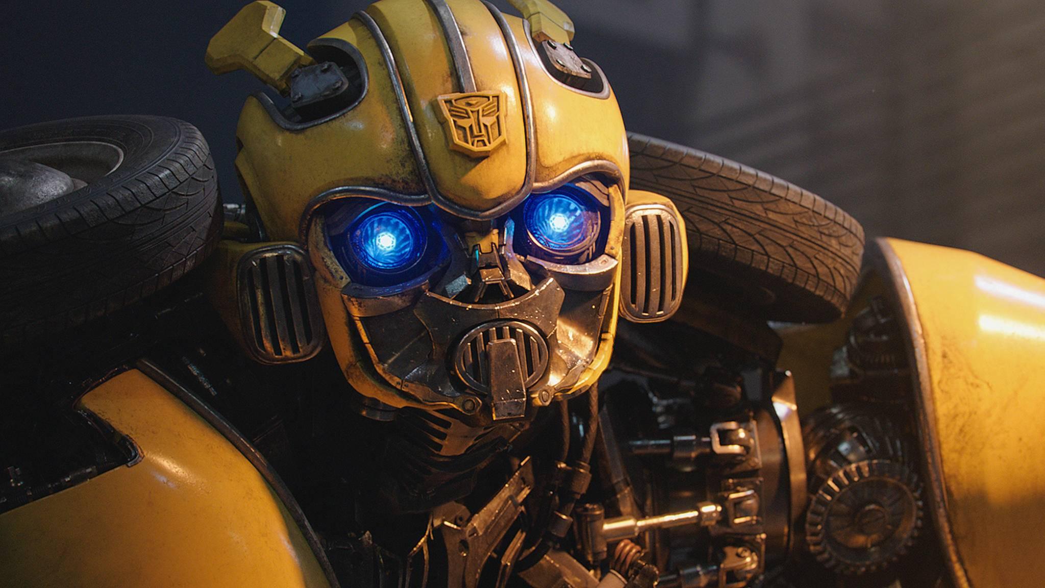 Bee ist in seinem ersten Solofilm richtig niedlich – auch aufgrund des neuen G1-Looks.