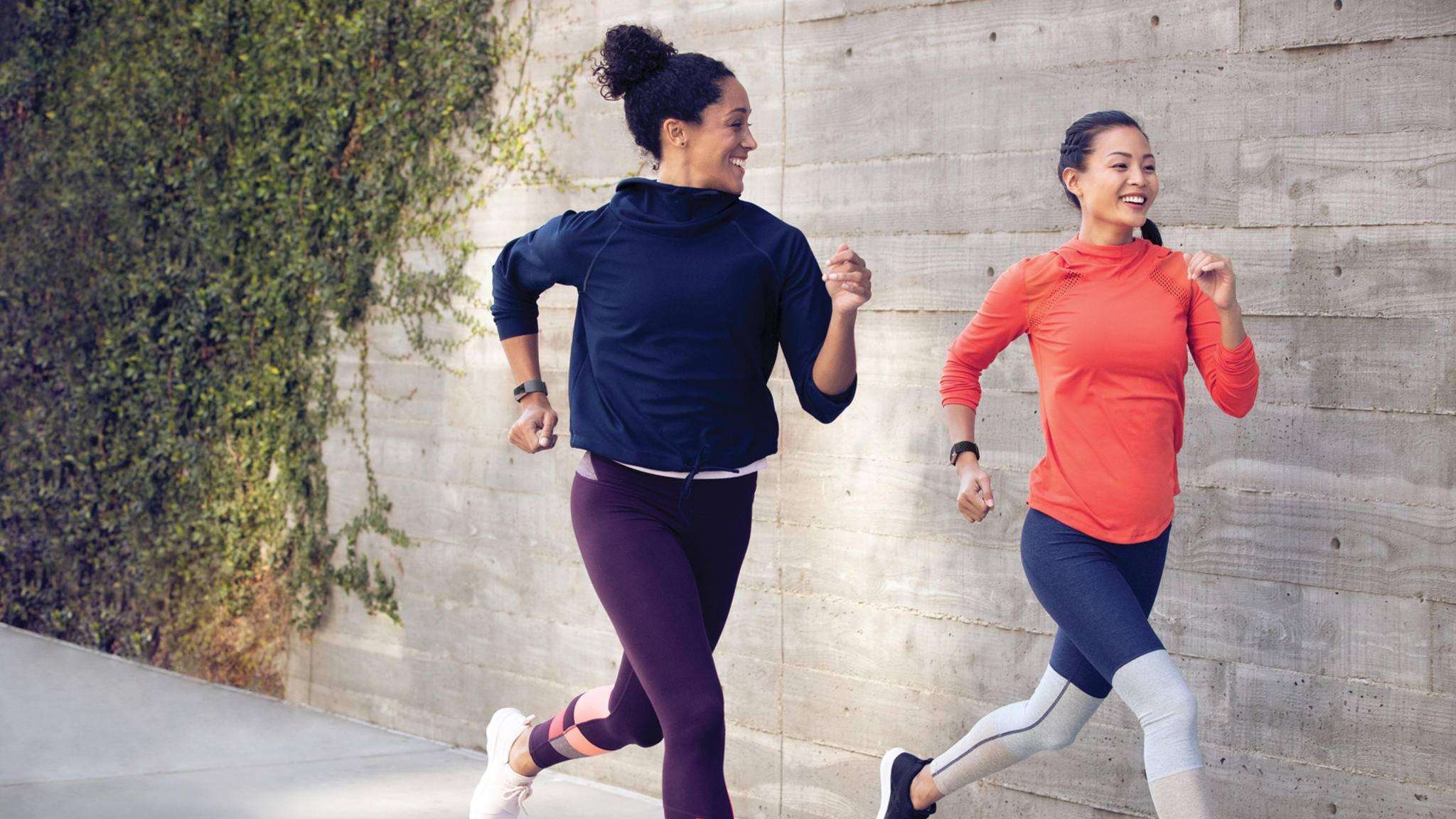 Der Fitbit Charge 3 kann zu Höchstleistungen motivieren.