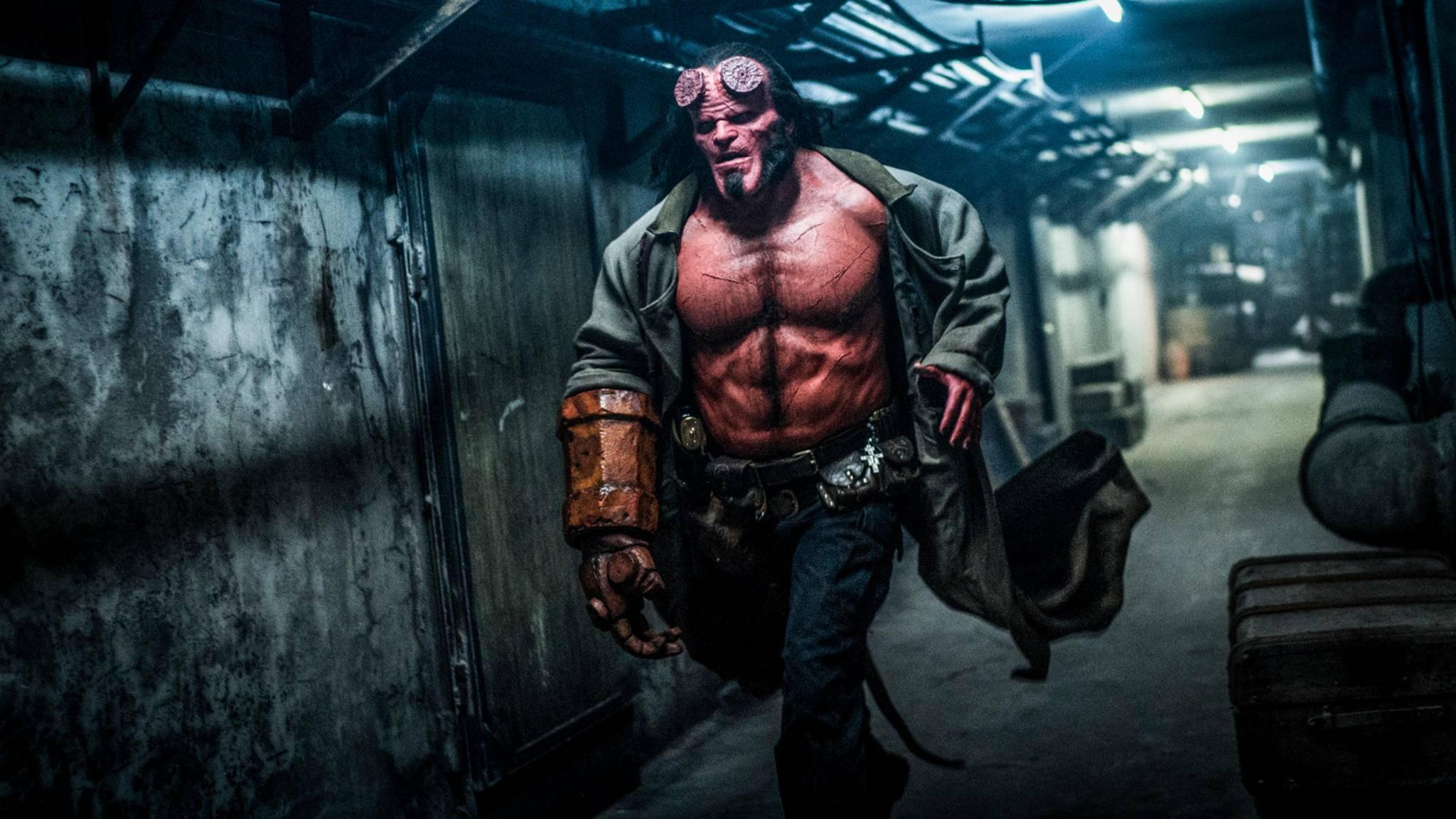 """Den ersten Trailer zum """"Hellboy""""-Film mit David Harbour gibt's noch diese Woche."""