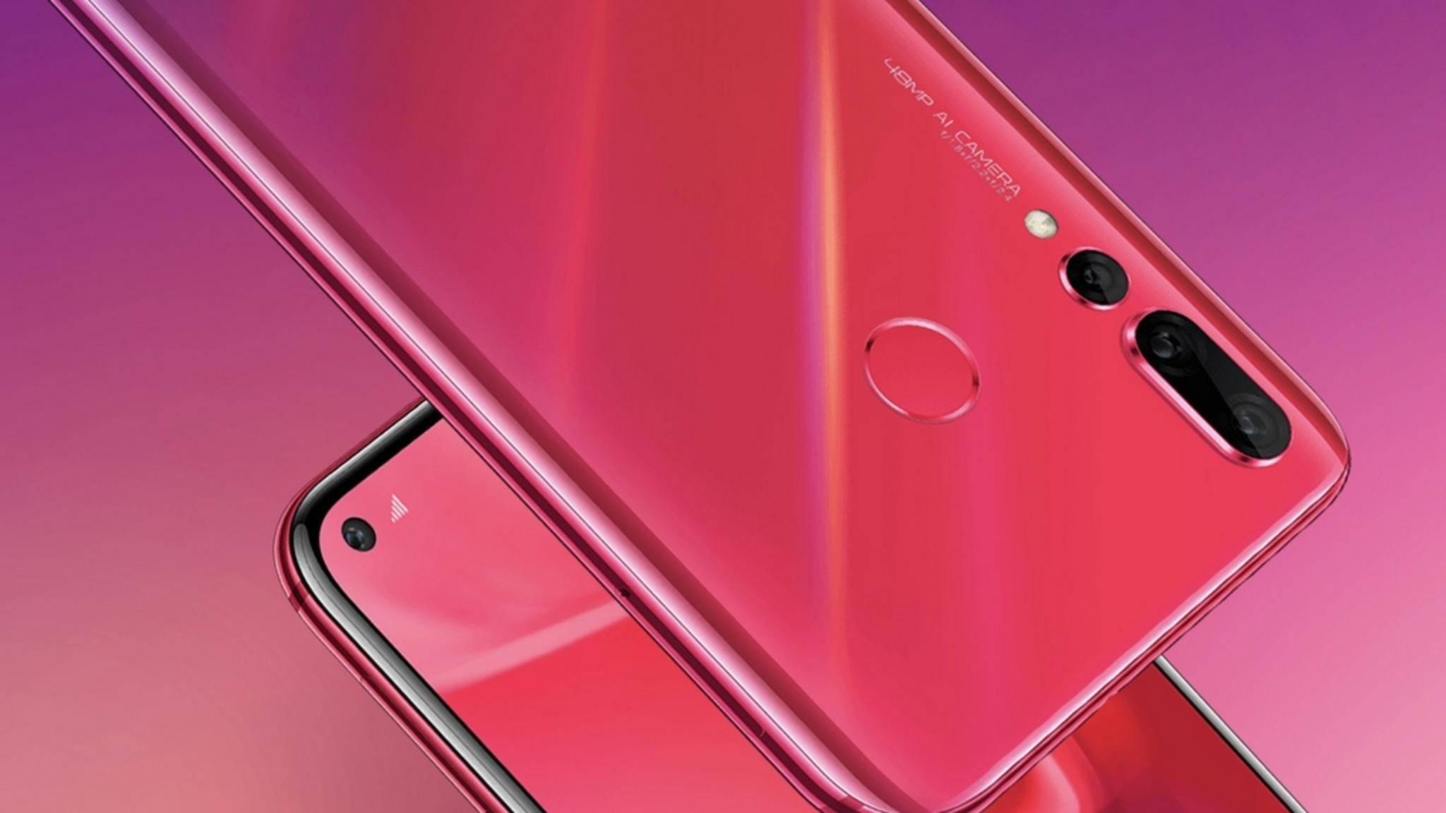 Das Huawei Nova 4 könnte einen neuen Design-Trend für Smartphones lostreten.