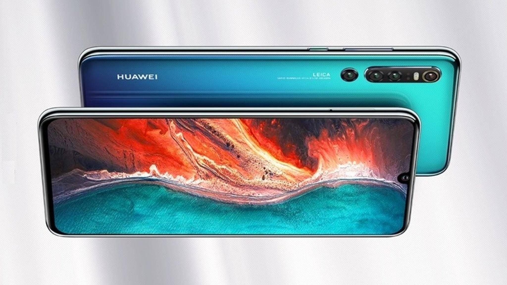 Das Huawei P30 Pro (hier ein Konzept) soll vier Hauptkameras bieten.