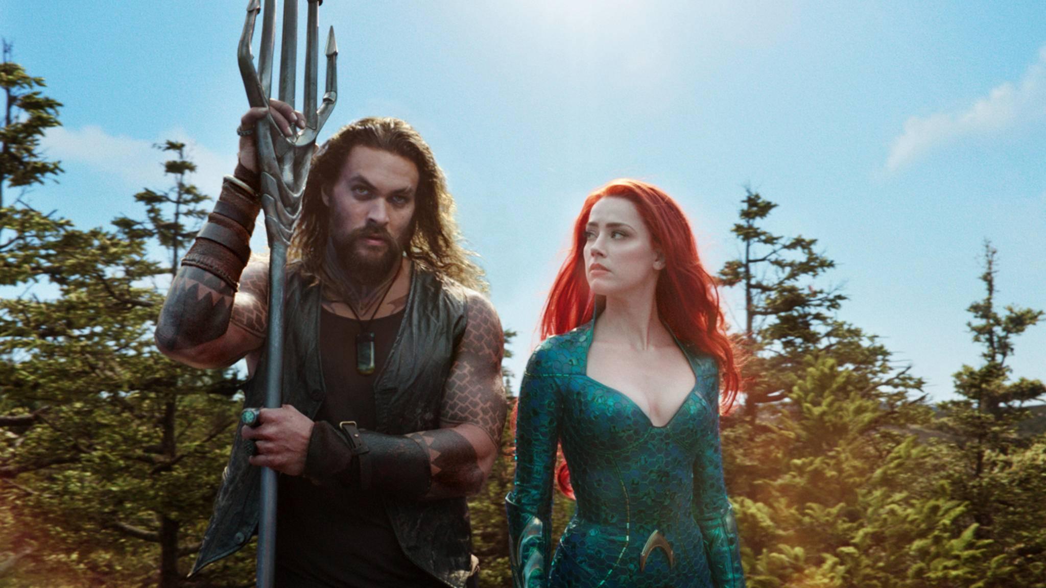 Aquaman und Sidekick Mera starten durch – und wie!