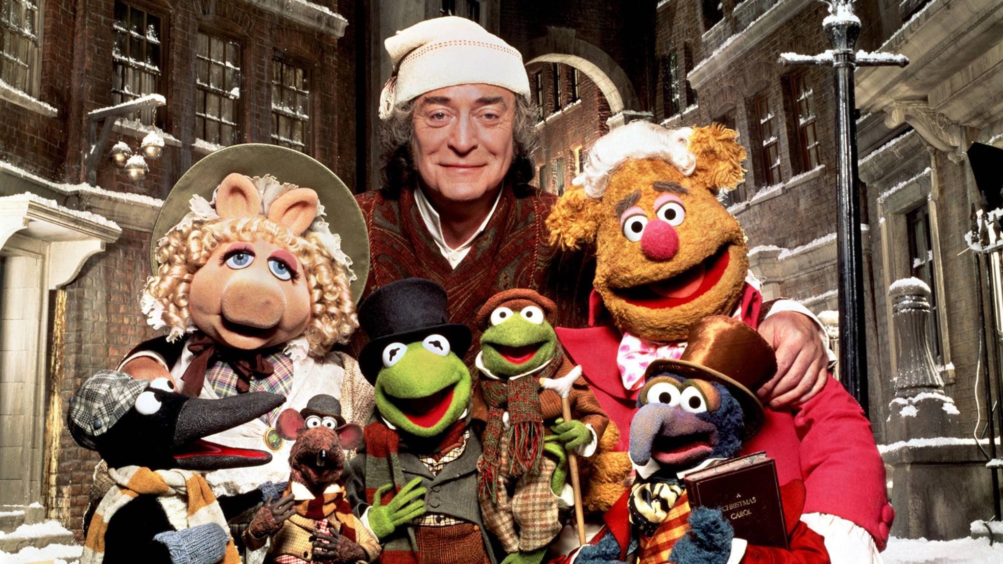 """Auch die Muppets haben eine """"A Christmas Carol""""-Version gedreht."""