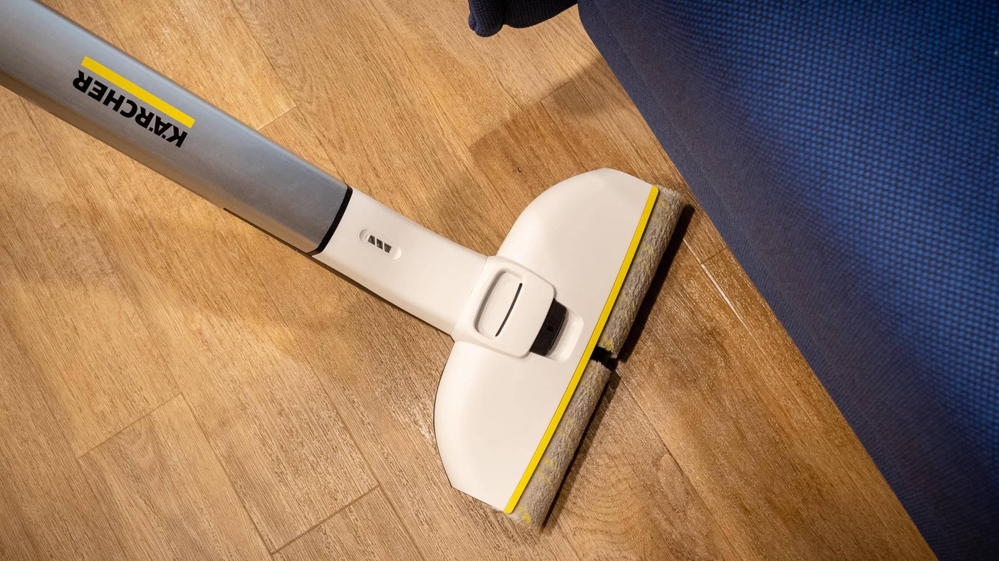hartbodenreiniger fc 3 cordless premium von k rcher im test. Black Bedroom Furniture Sets. Home Design Ideas
