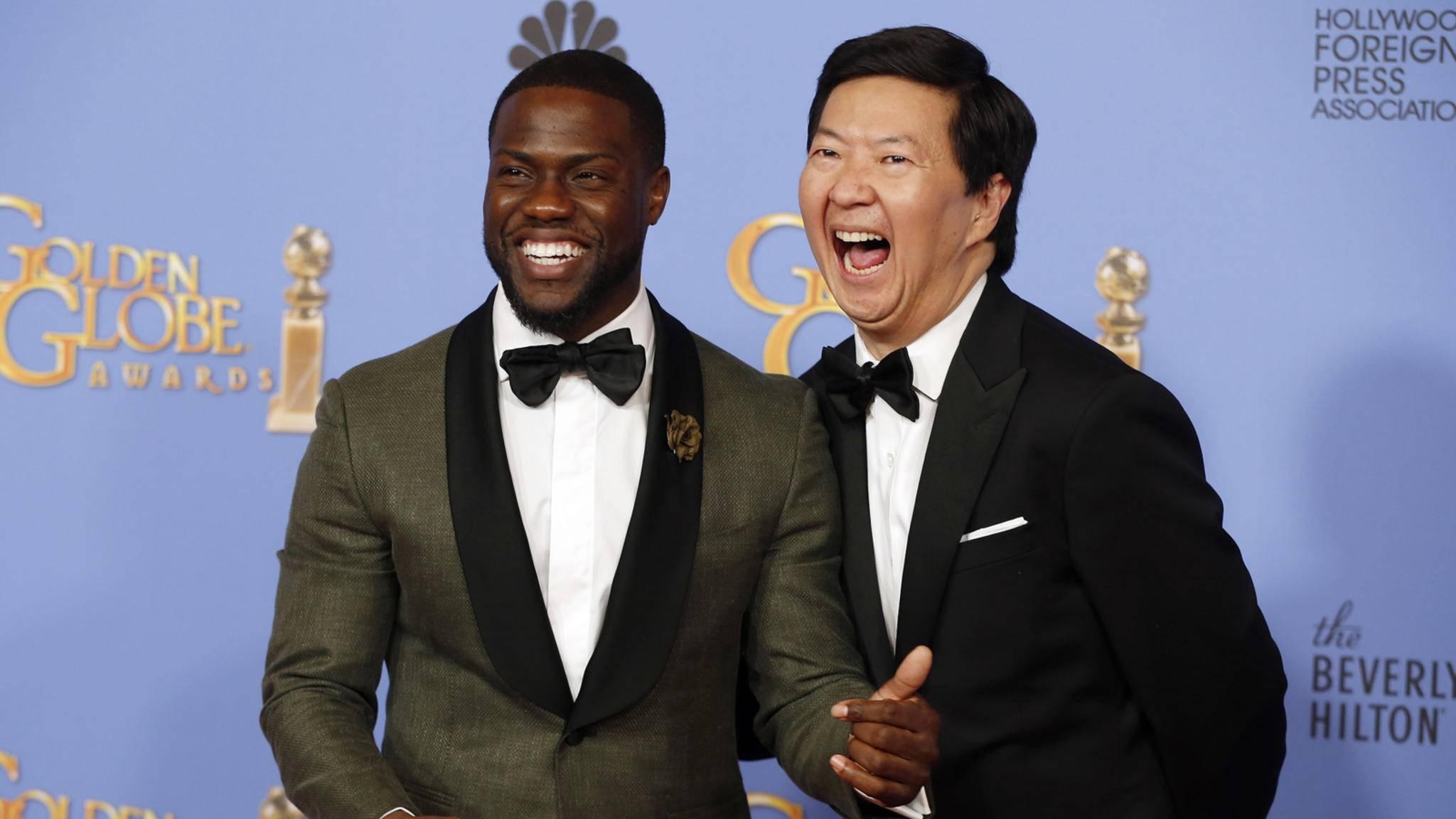 Kevin Hart (links) wurde als Oscars-Host bestätigt – und trat nur einen Tag später zurück. Wird jetzt Ken Jeong (rechts) zum Nachfolger erklärt?