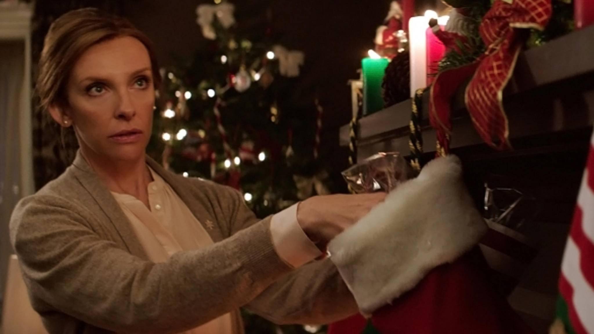 Was da auf dem Dach herumtapst, ist sicher nicht der liebe Weihnachtsmann ...