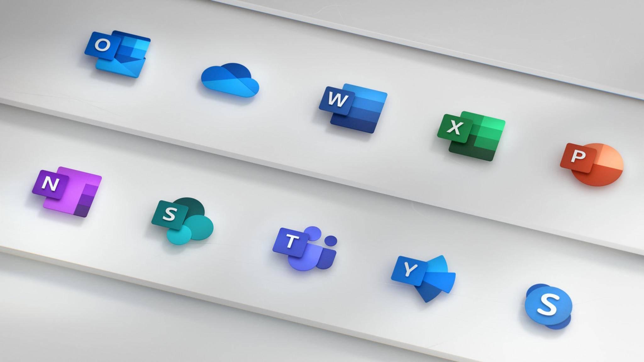 Die neuen Office-Icons waren nur der Anfang.