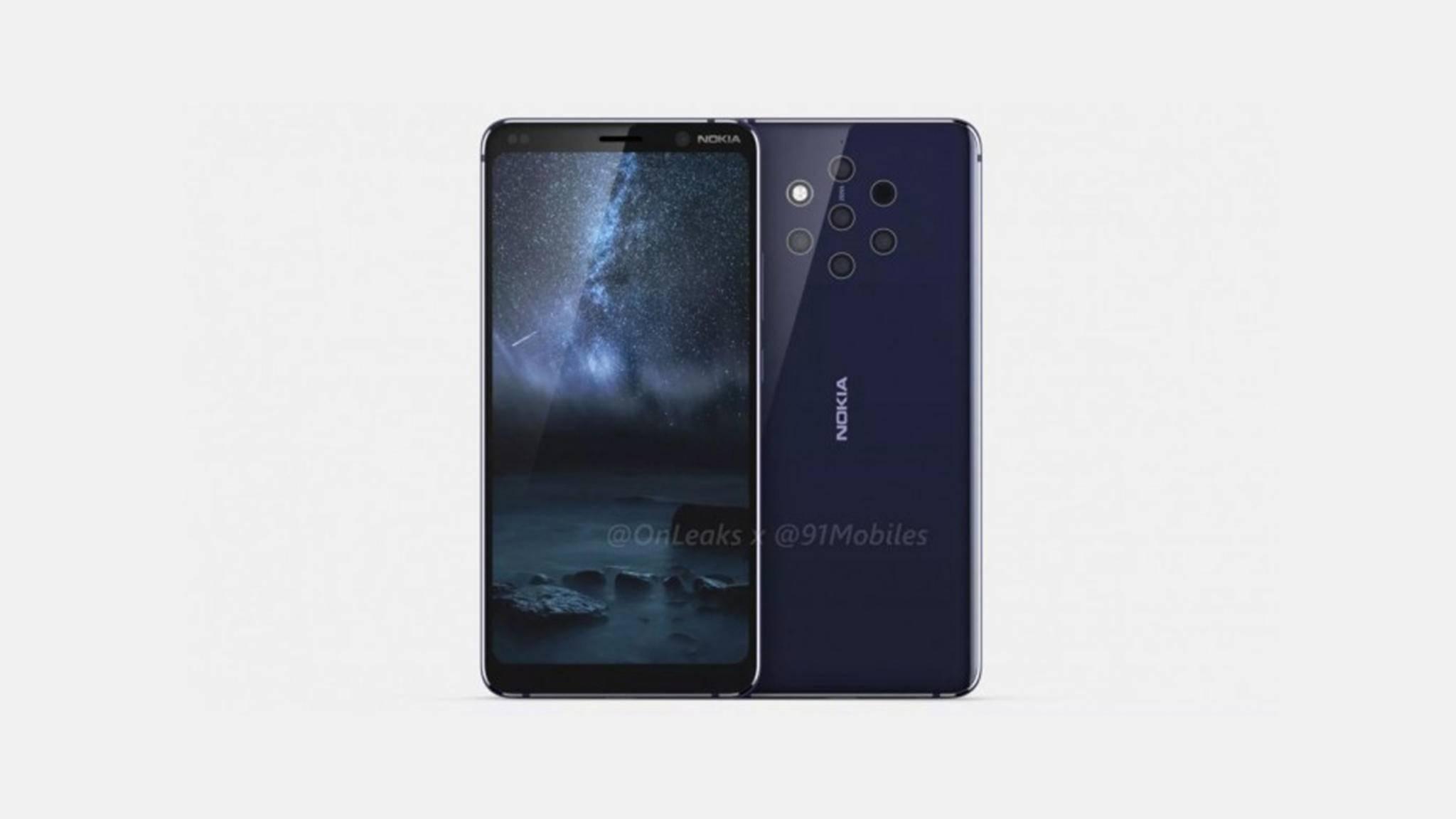 Das Nokia 9 PureView soll es mit anderen Top-Smartphones aufnehmen.