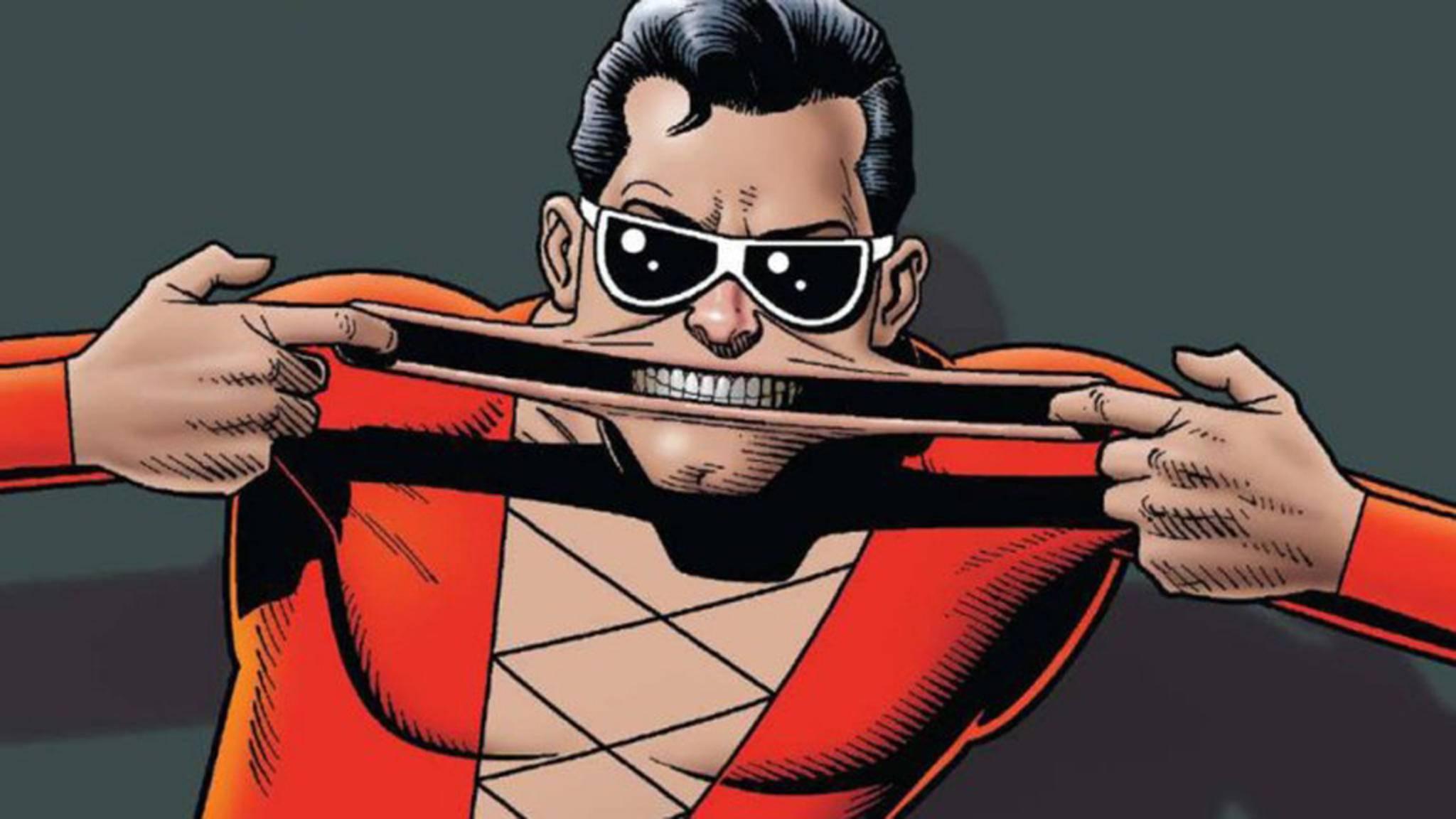 Mit Plastic Man erobert ein weiterer DC-Held die große Leinwand.
