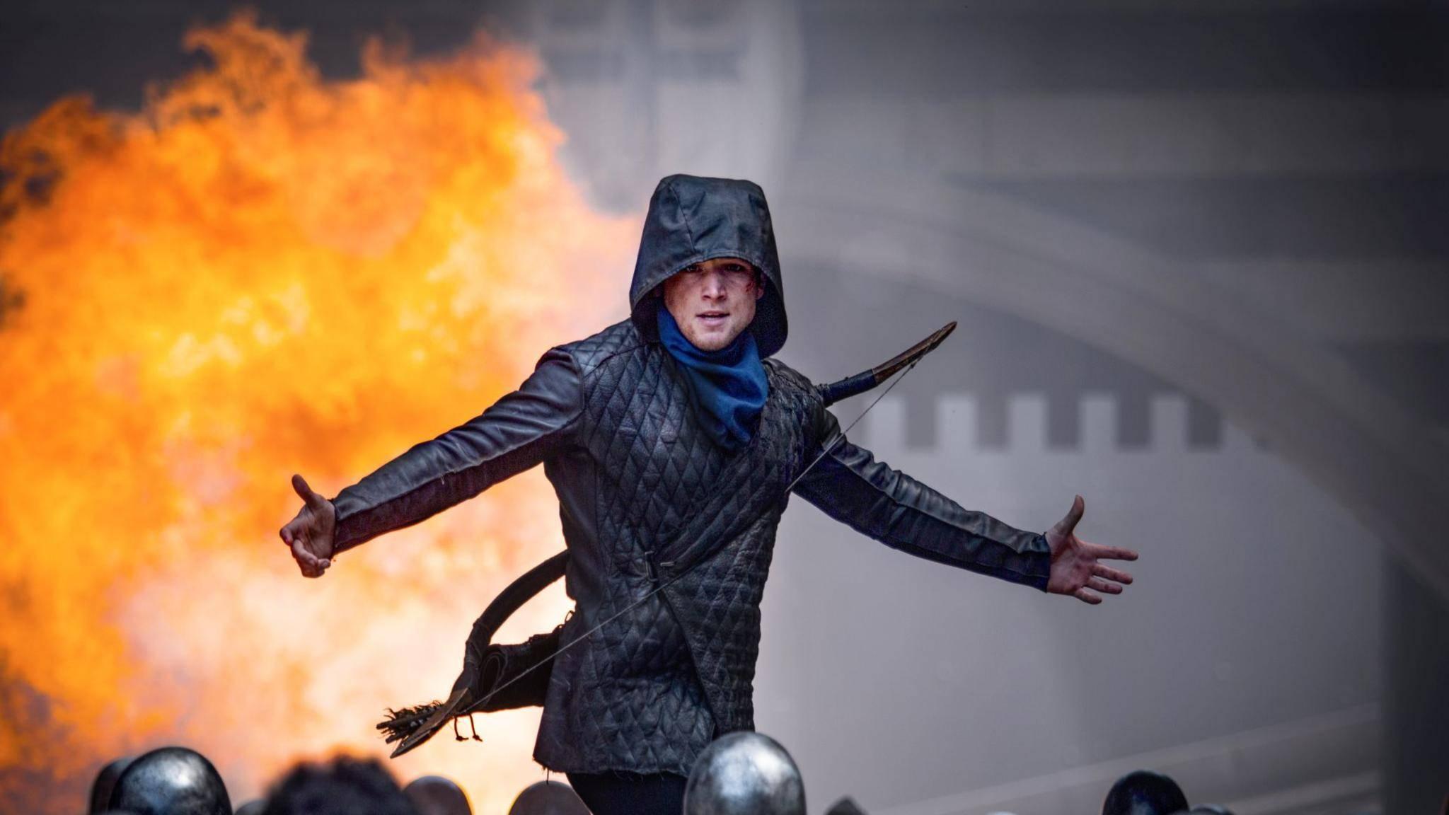 """Come at me, bro! """"Robin Hood"""" kommt bei der Kritik eher schlecht weg. Scheint ihn aber nicht groß zu beeindrucken."""